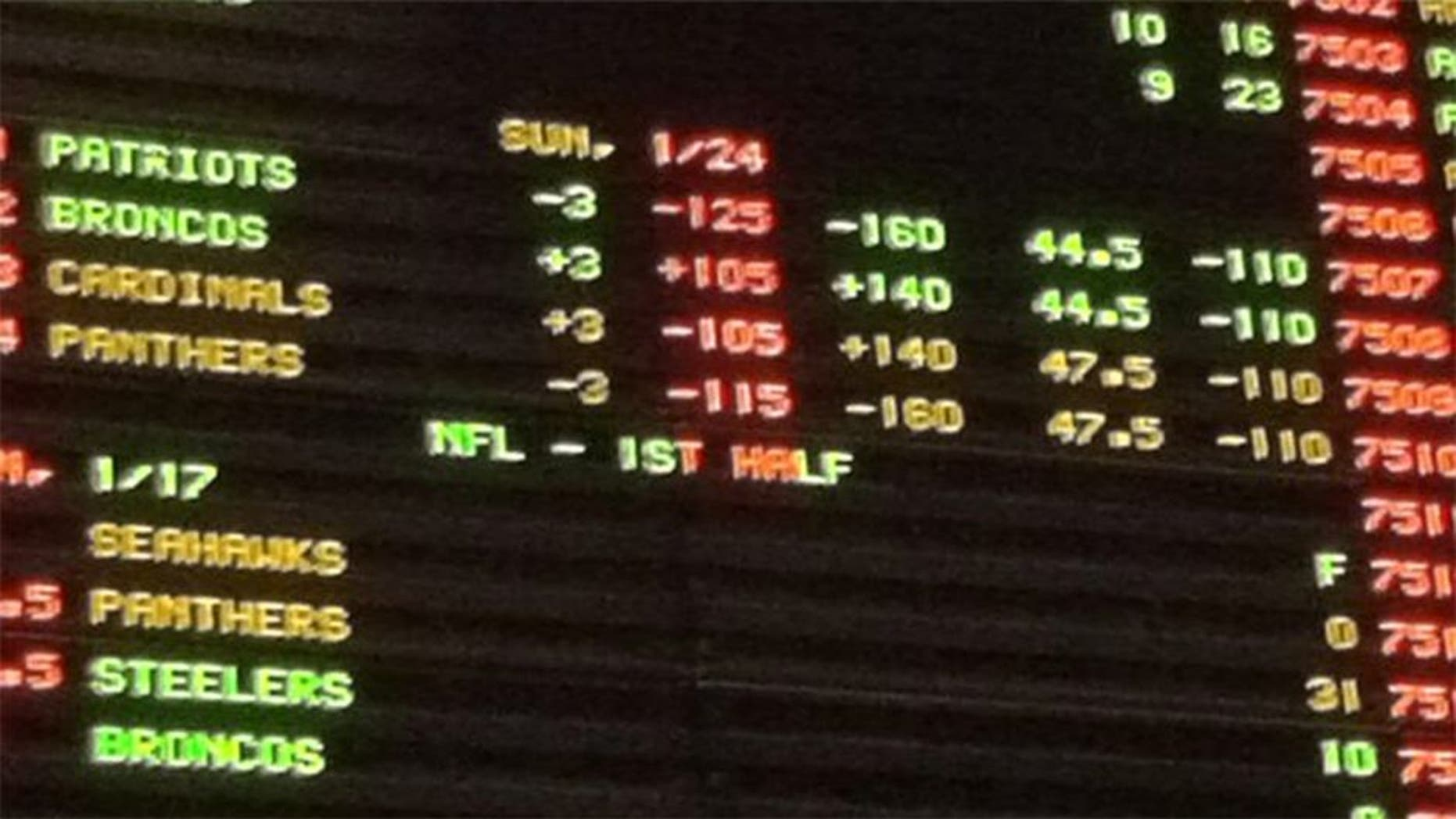 Vegas sportsbook takes $623K bet on the Panthers money line