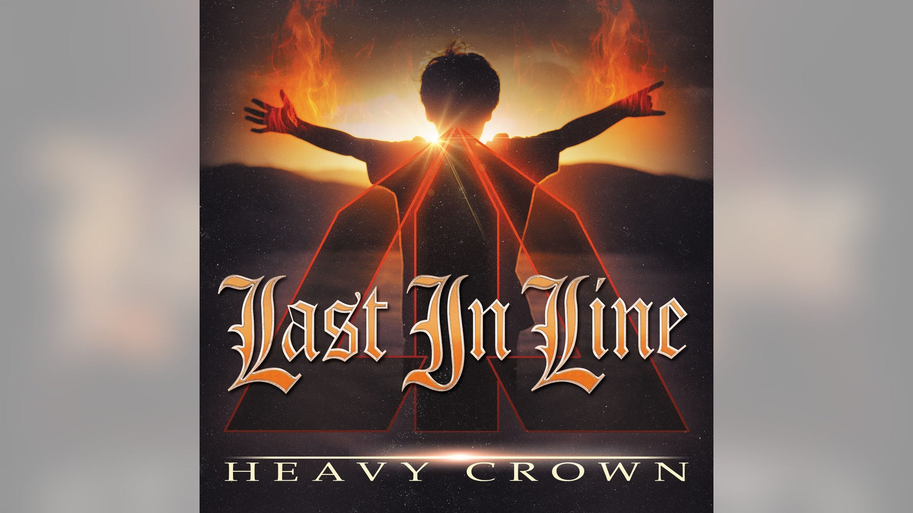 """This CD cover image released by Frontiers SRL shows """"Heavy Crown,"""" a release by Last In Line. (Frontiers SRL via AP)"""