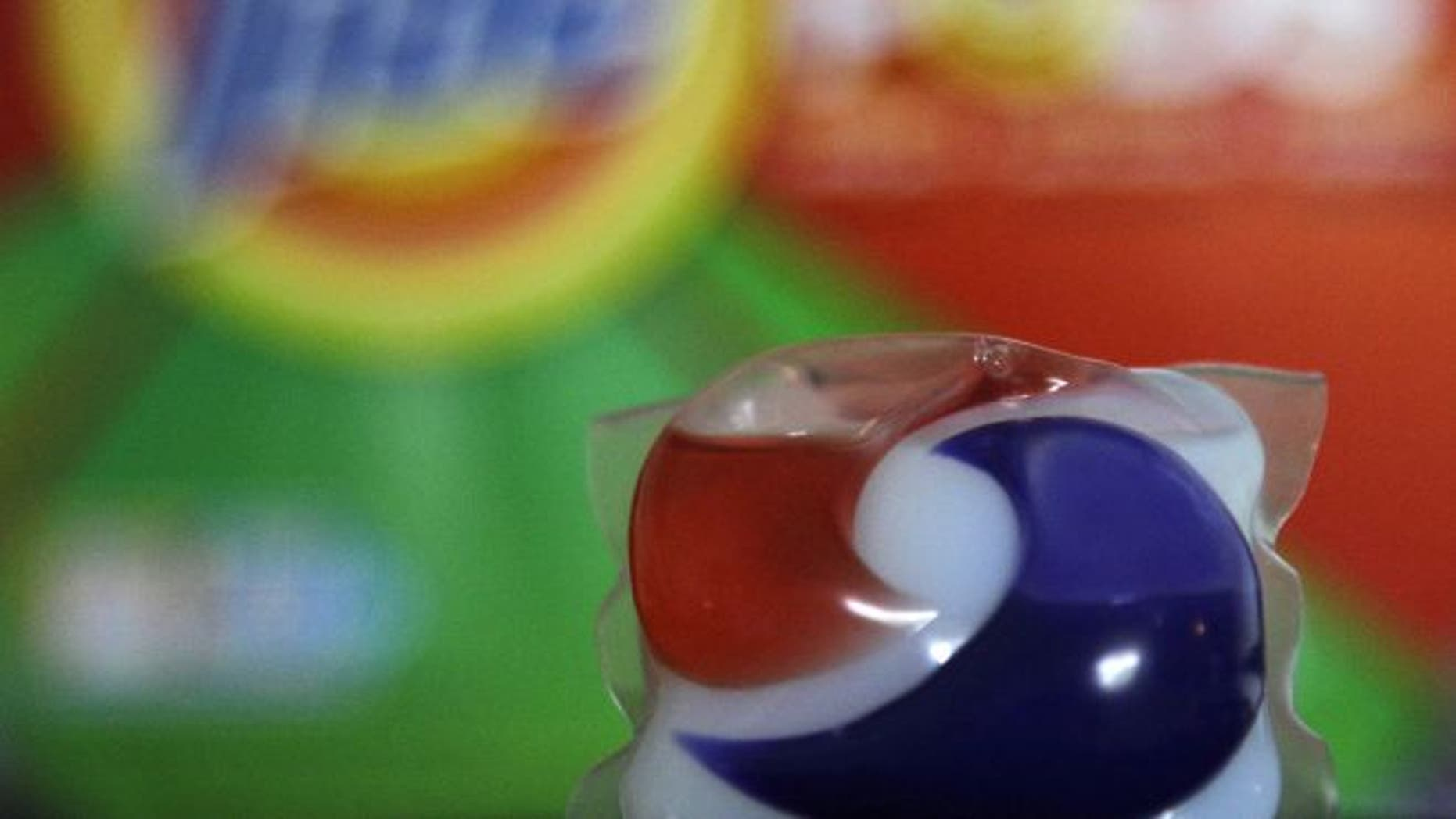 FILE: A Florida toddler died after swallowing a candy-colored liquid laundry packet, raising concerns about the access children have to the products.