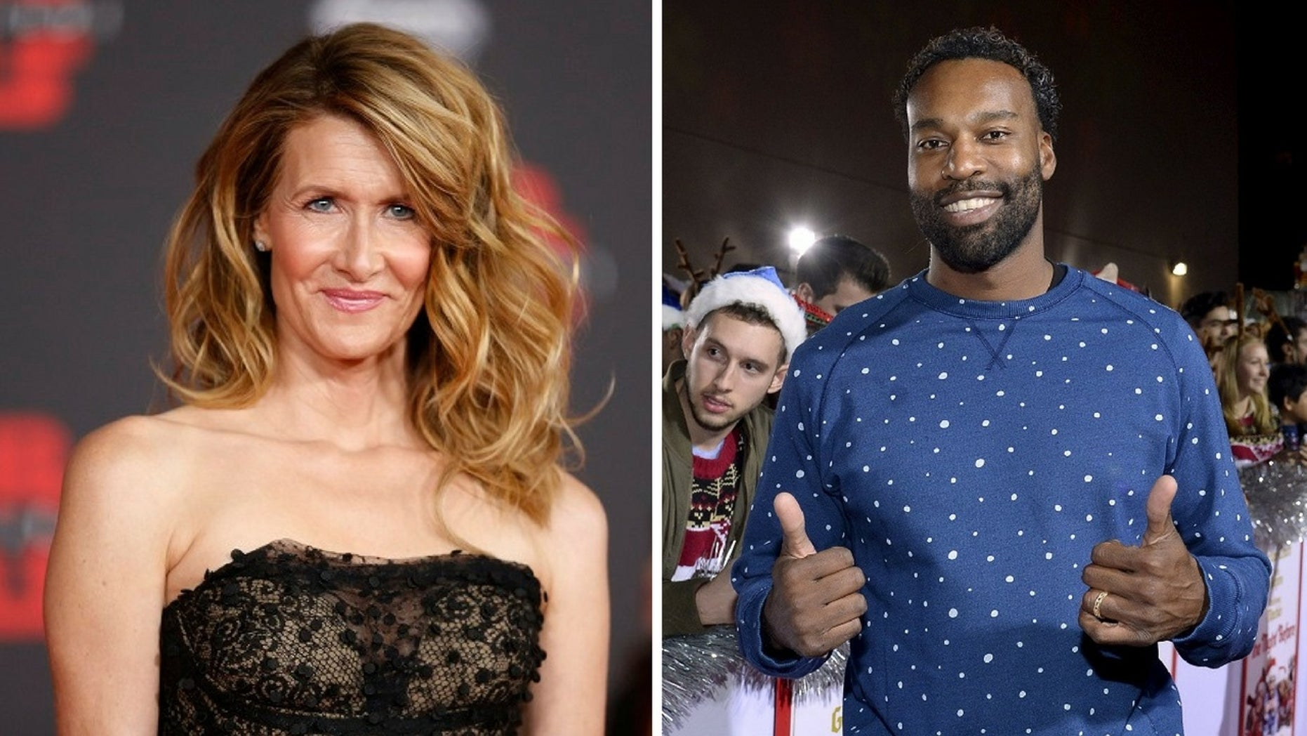 Laura Dern and Baron Davis were spotted together having a romantic lunch last week in Beverly Hills.