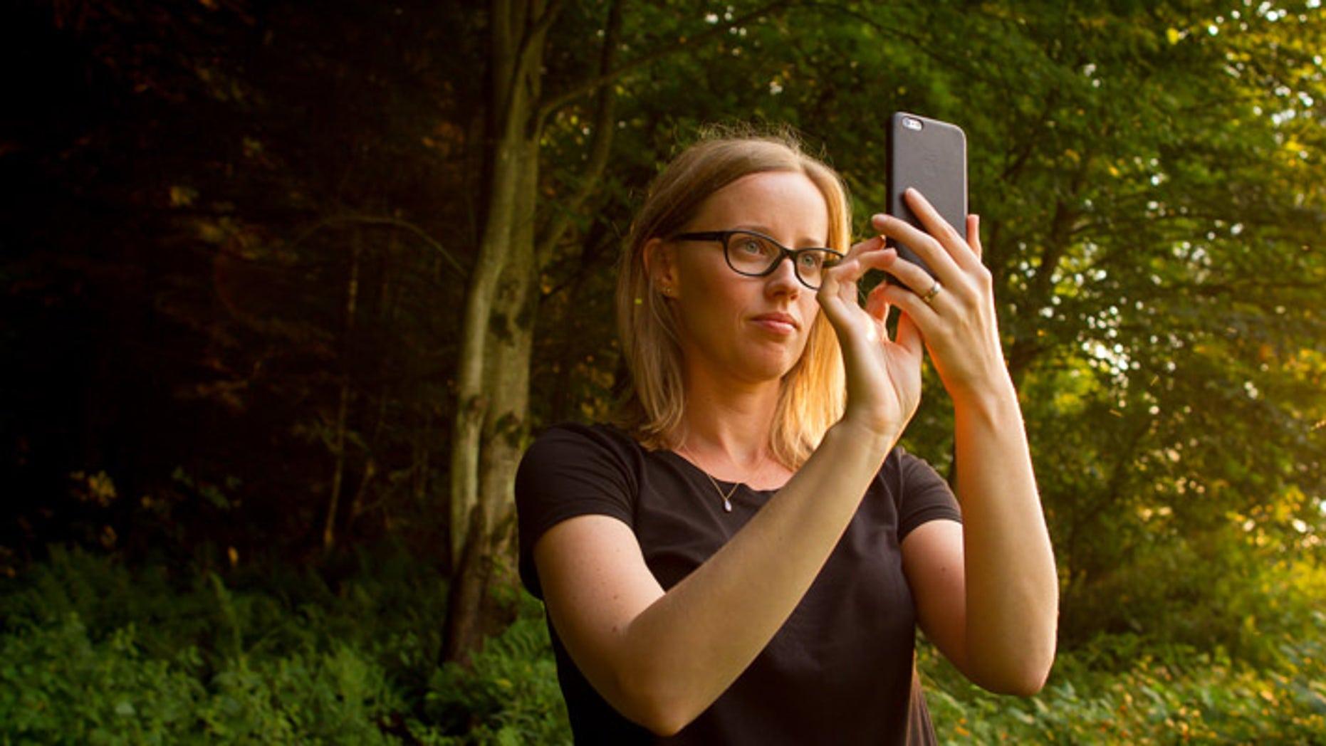 University of Vermont researcher Laura Sonter.