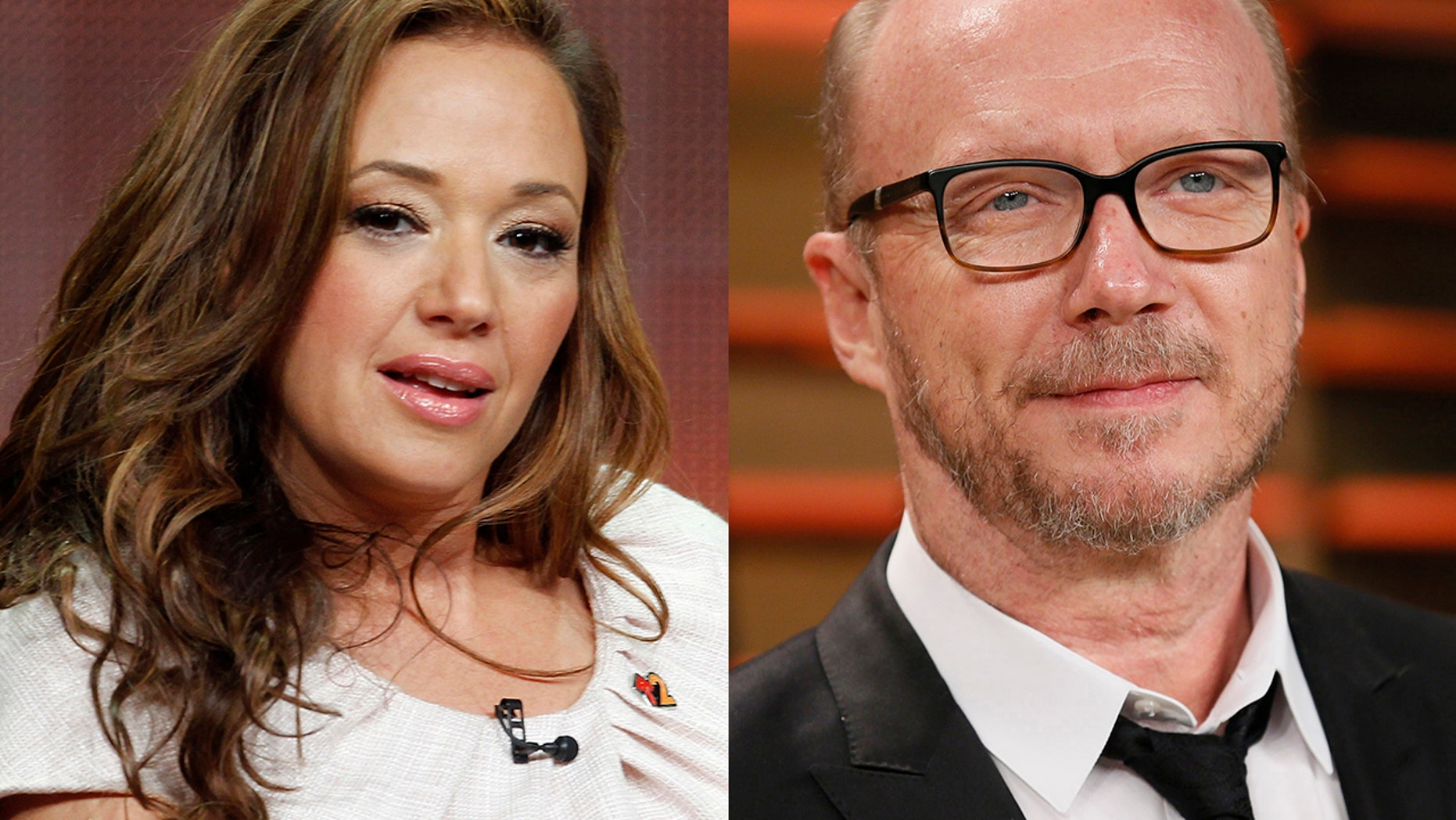 Actress Leah Remini defended fellow ex-Scientologist Paul Haggis against multiple rape accusations, suggesting the church is behind the claims.