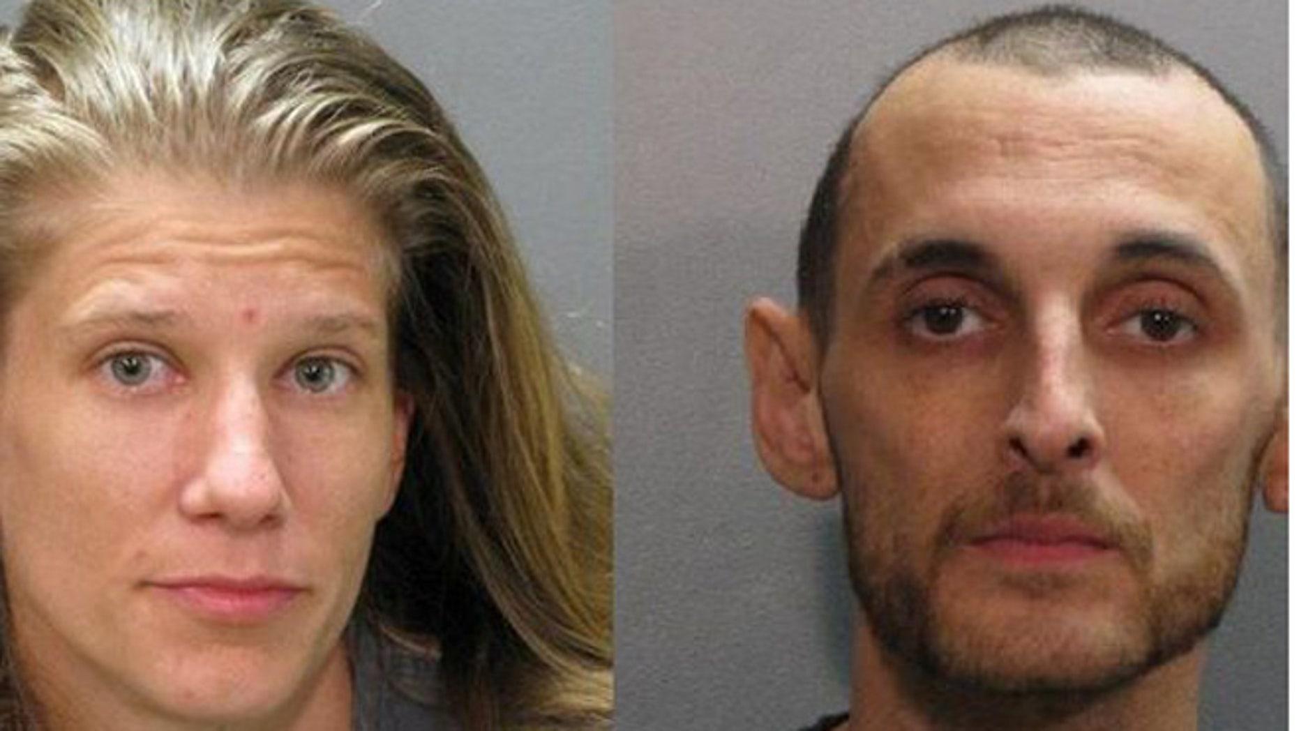 Photos of Leanne Hunn and Ryan Bautista.(Jacksonville Sheriff's Office)