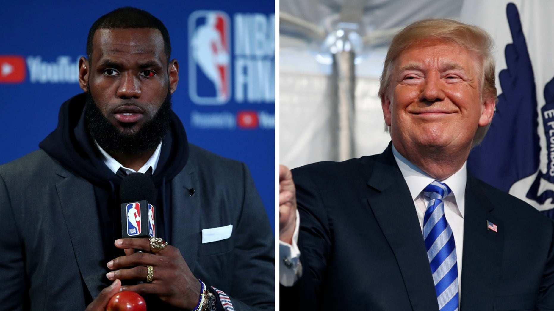 NBA star LeBron James said on Tuesday that neither teams participating in the NBA Finals would want an invite to the White House.