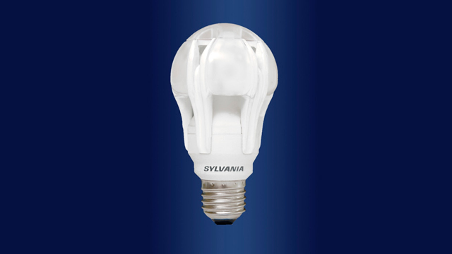 This is Osram Sylvania's ULTRA High Performance Series omni-directional LED A-Line lamp, designed to give the equivalent brightness of a 75-watt standard bulb.