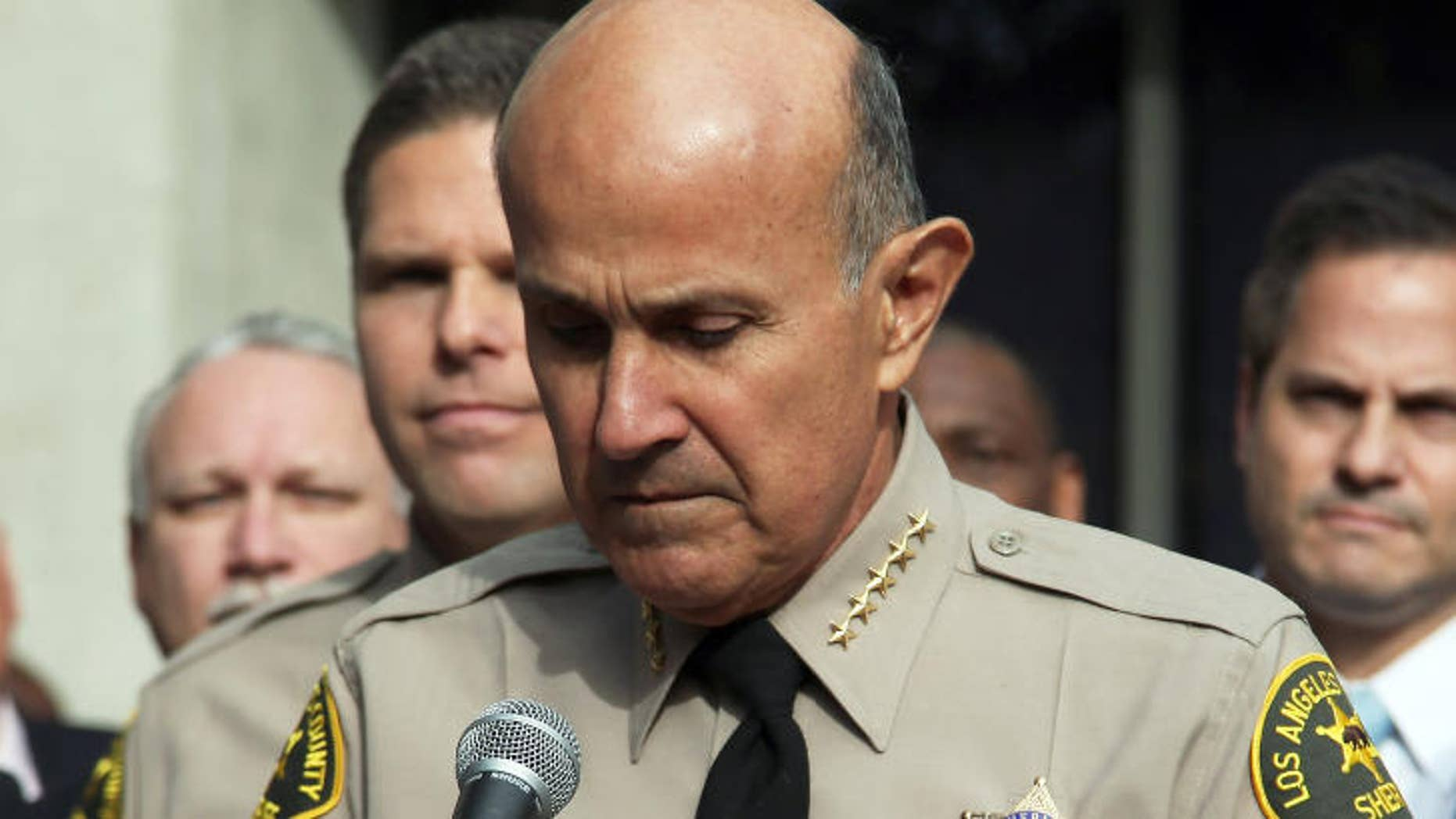 Former Los Angeles County Sheriff Lee Baca in 2014.
