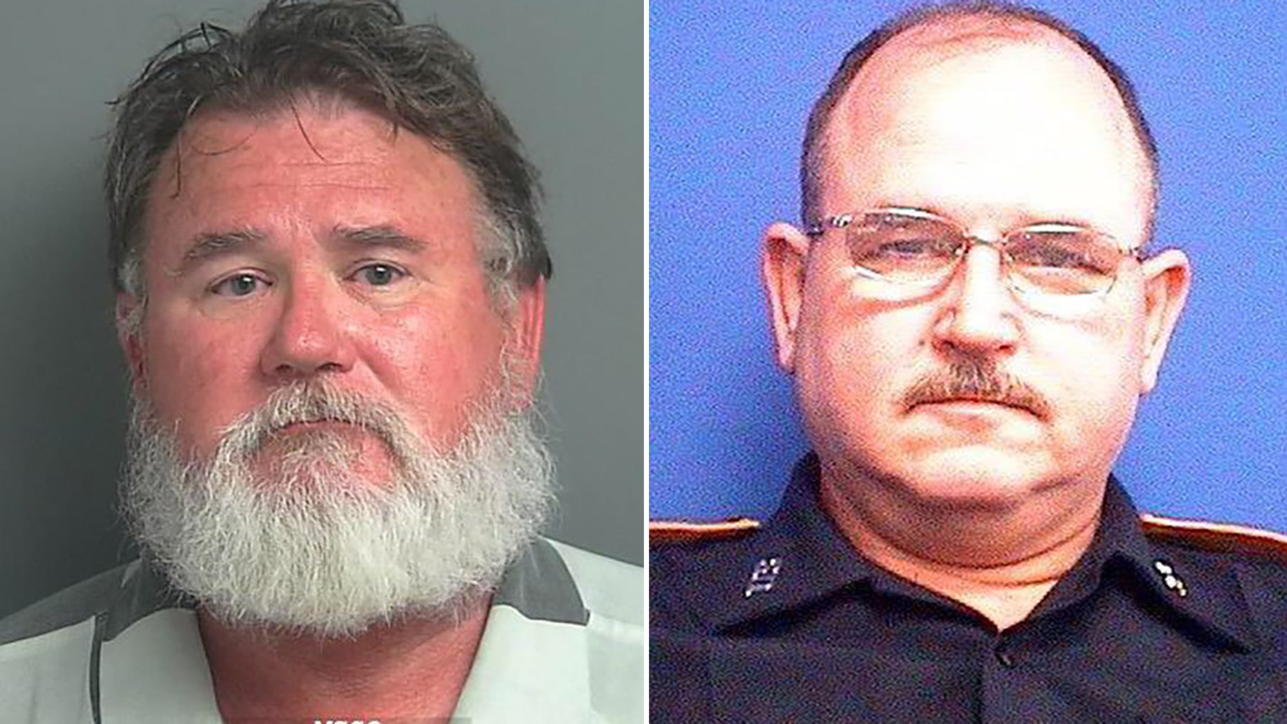 Robert Lee, 59, left, an off-duty police officer, fatally shot his brother, Rocky Lee, 57, an off-duty sheriff's deputy, authorities said.