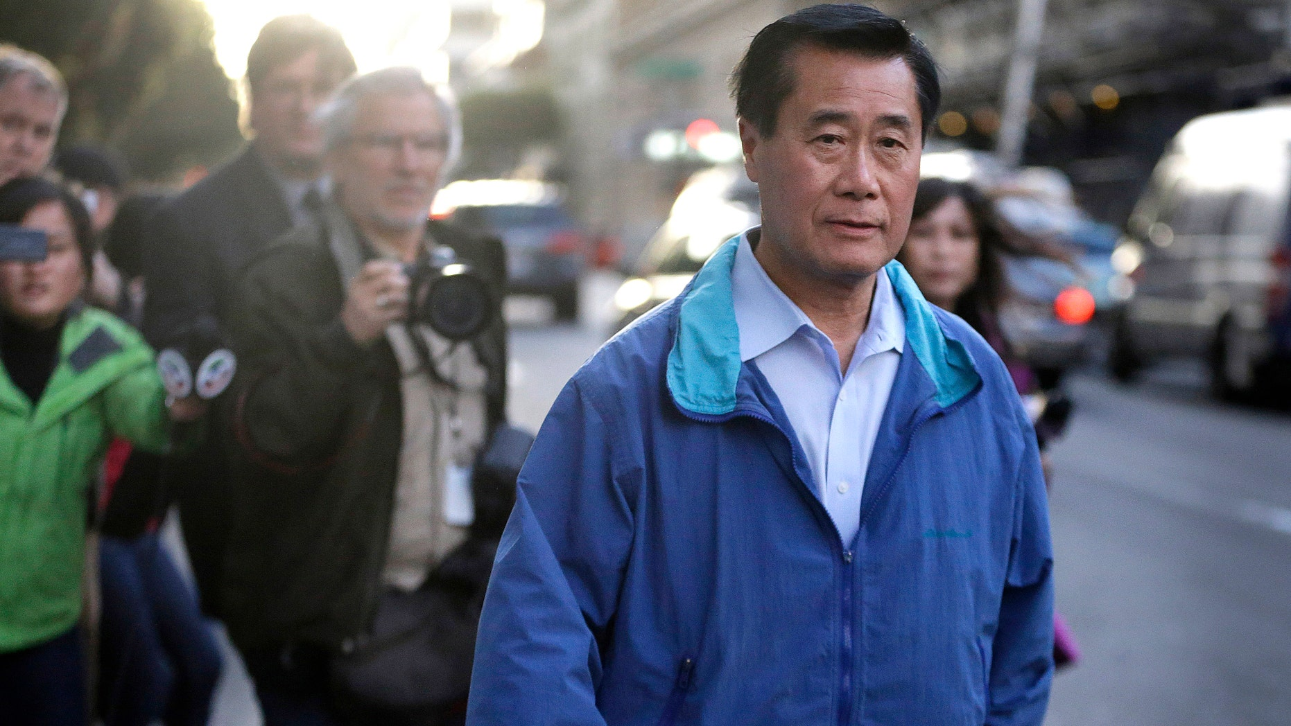 California state Sen. Leland Yee, D-San Francisco, on Wednesday, March 26, 2014.