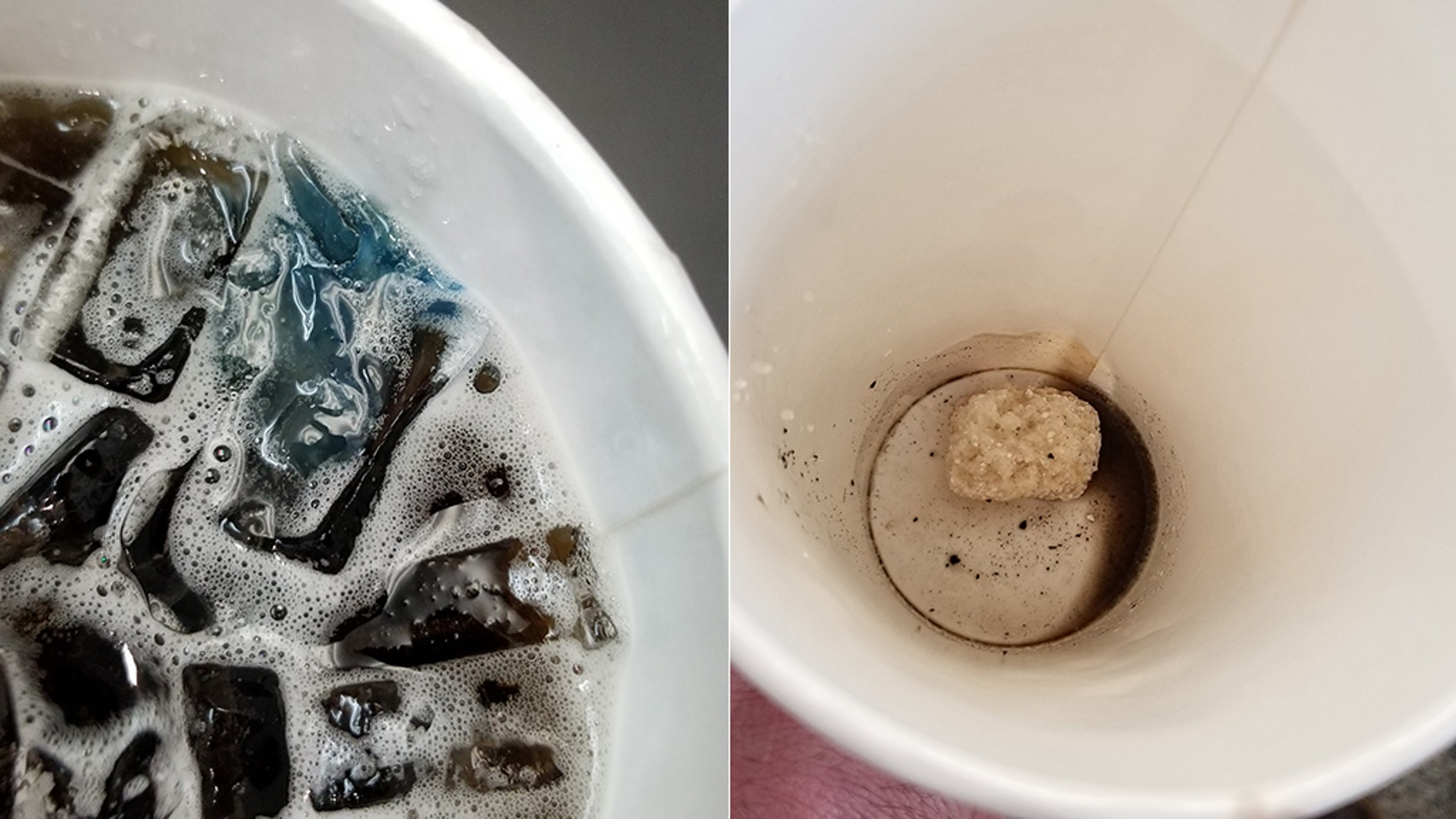 A man in Florida claims a McDonald's worker put a bleach pod in his soda, leading to his hospitalization.