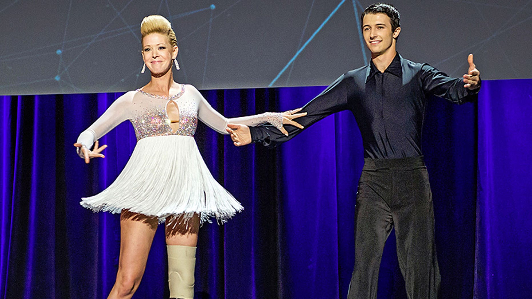 "Adrianne Haslet-Davis tweeted Thursday night: ""u lost my luggage w over $250k of leg & dance parts."""