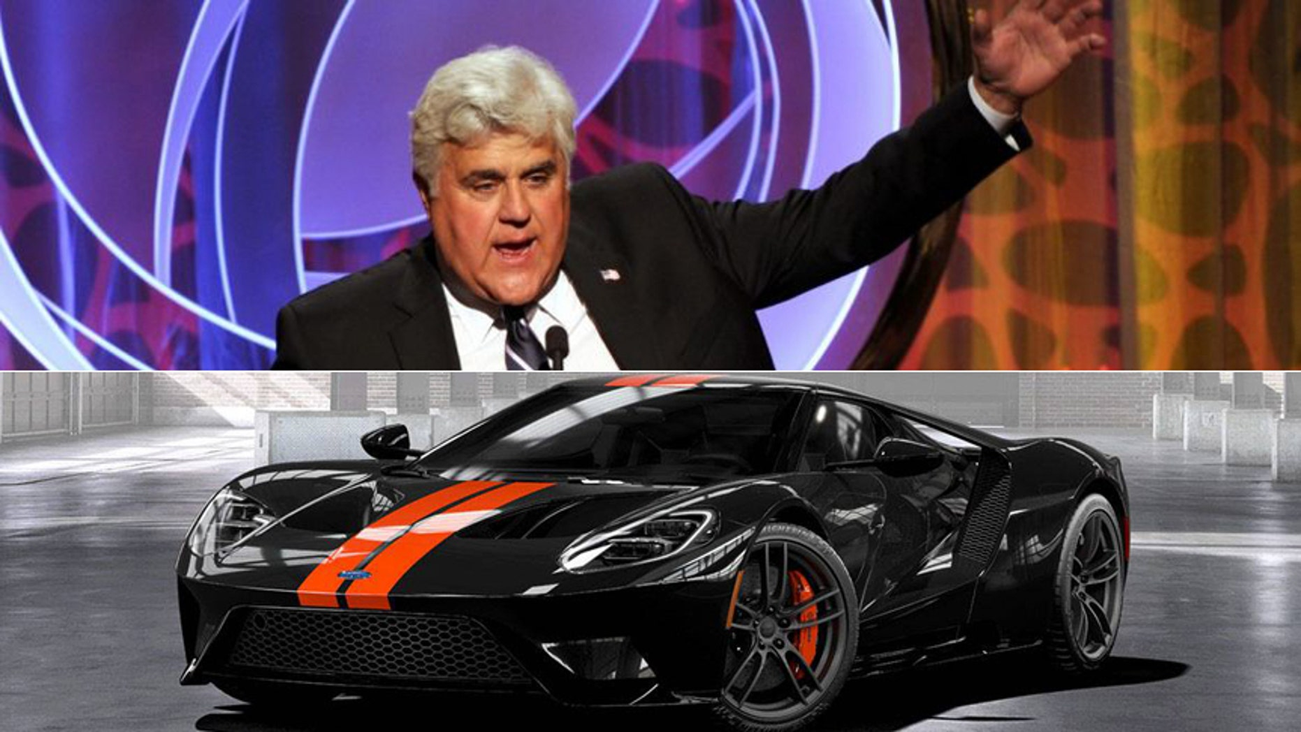 Jay Leno Takes Delivery Of His  Ford Gt