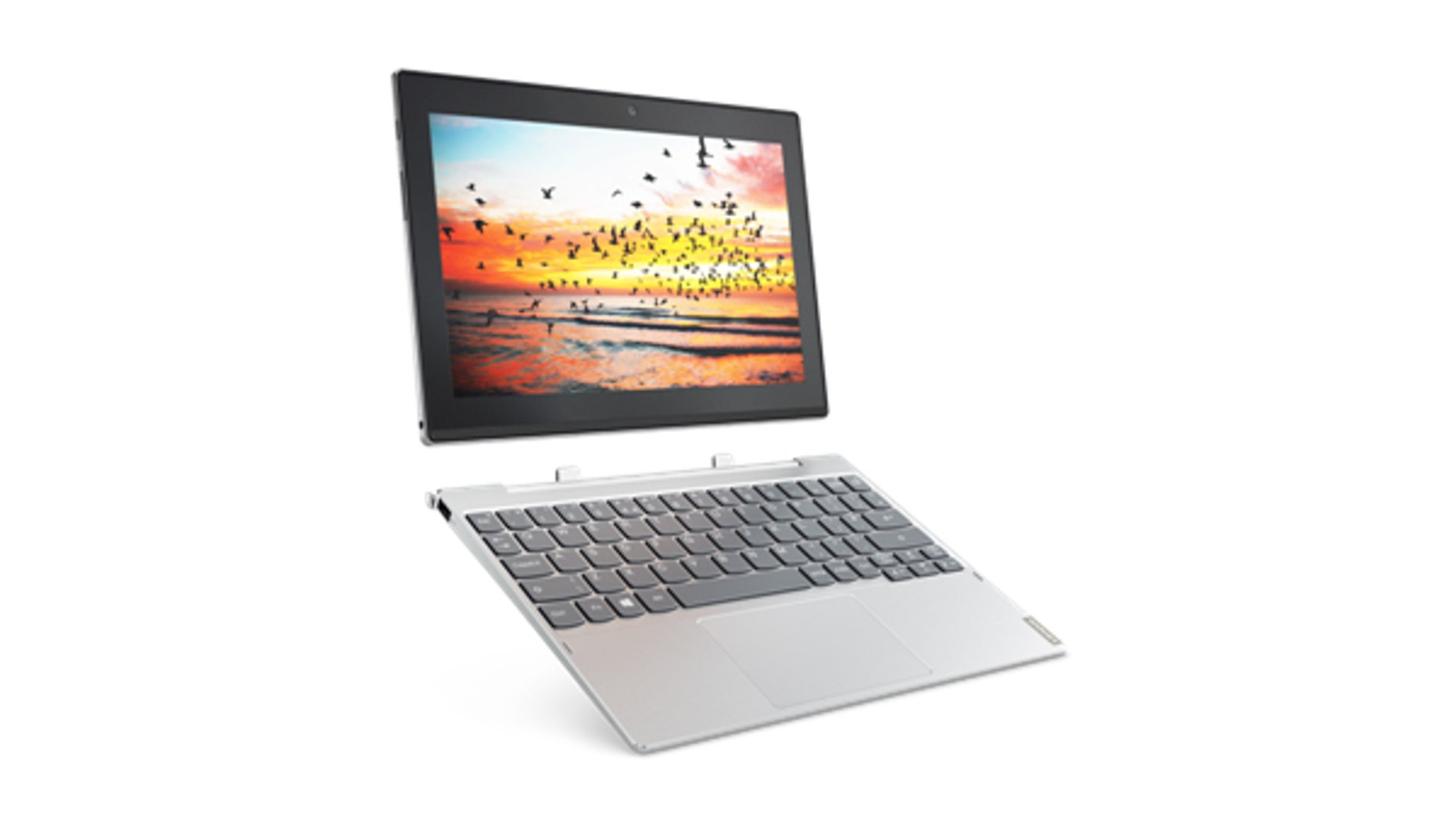 Lenovo Miix 320 Windows 10 detachable in Platinum Silver (Lenovo).