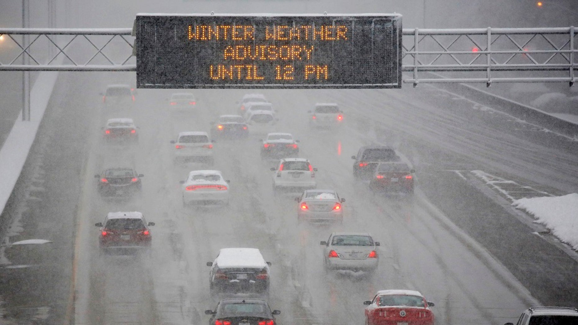 The Northeast braces for Winter Storm Benji after the storm hit the South with snow.