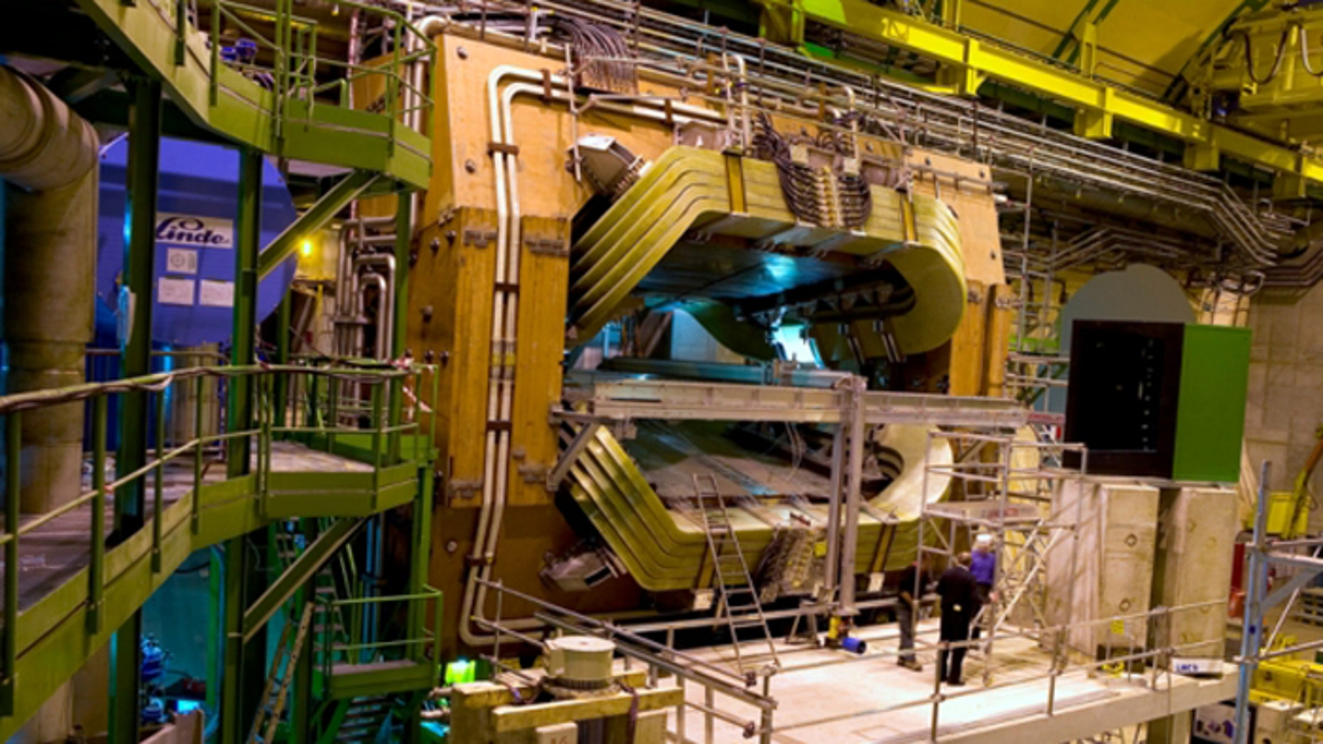 The LHCb experiment.