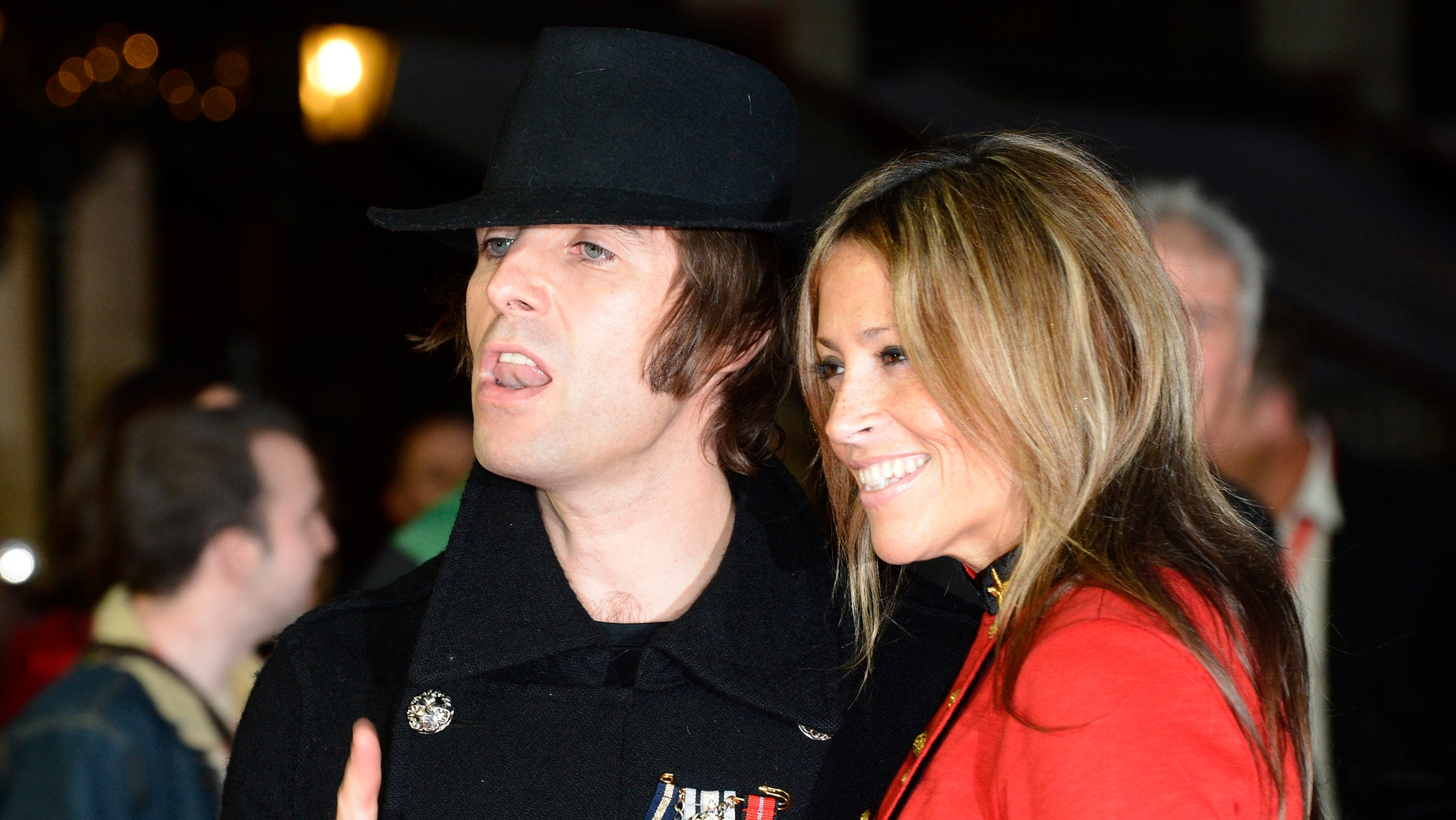Liam Gallagher and wife Nicole Appleton in 2012.