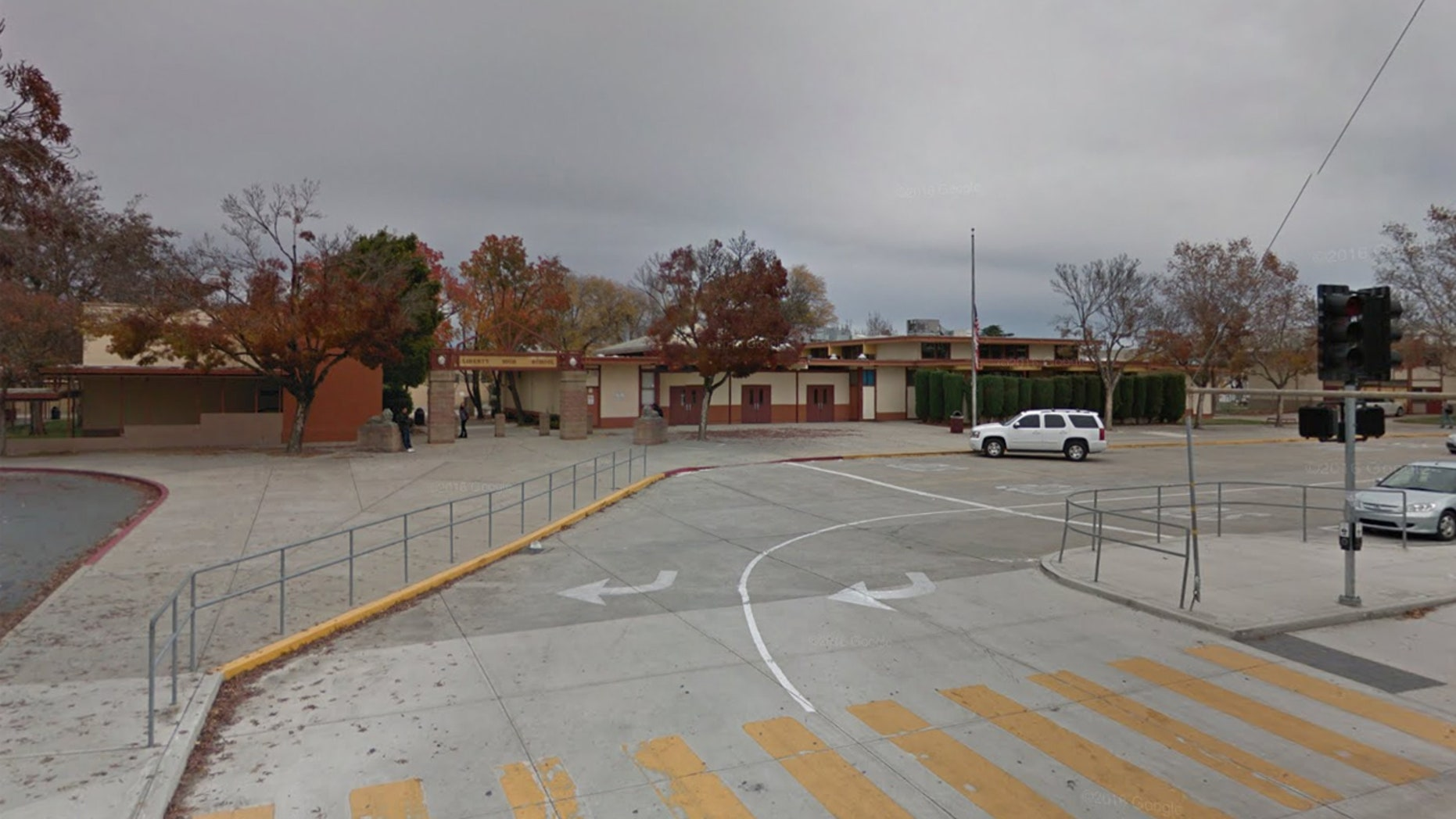 Liberty Union High School in Brentwood, California.