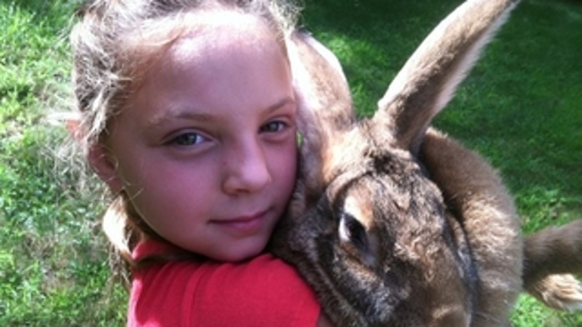 """""""I don't want the bunny to go,"""" Kayden Lidsky said, according to an online petition. (Change.org)"""