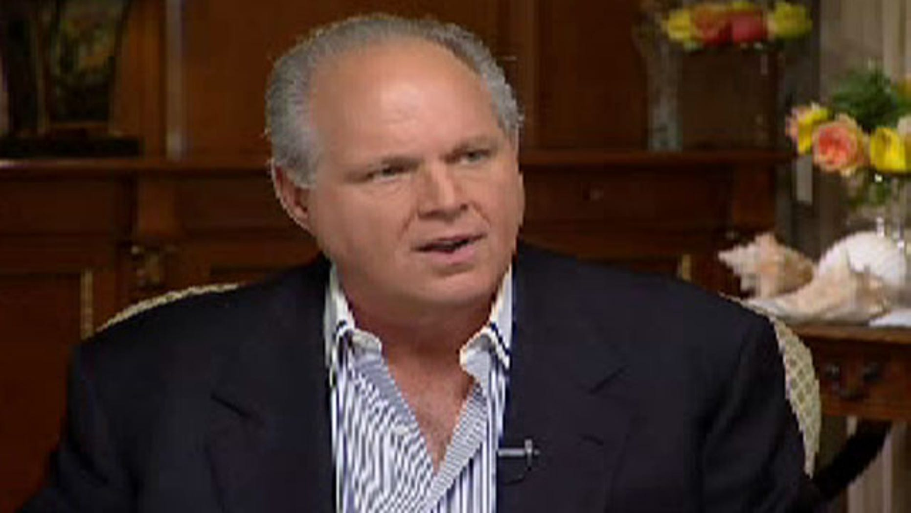 Rush Limbaugh appears on Fox News Sunday.
