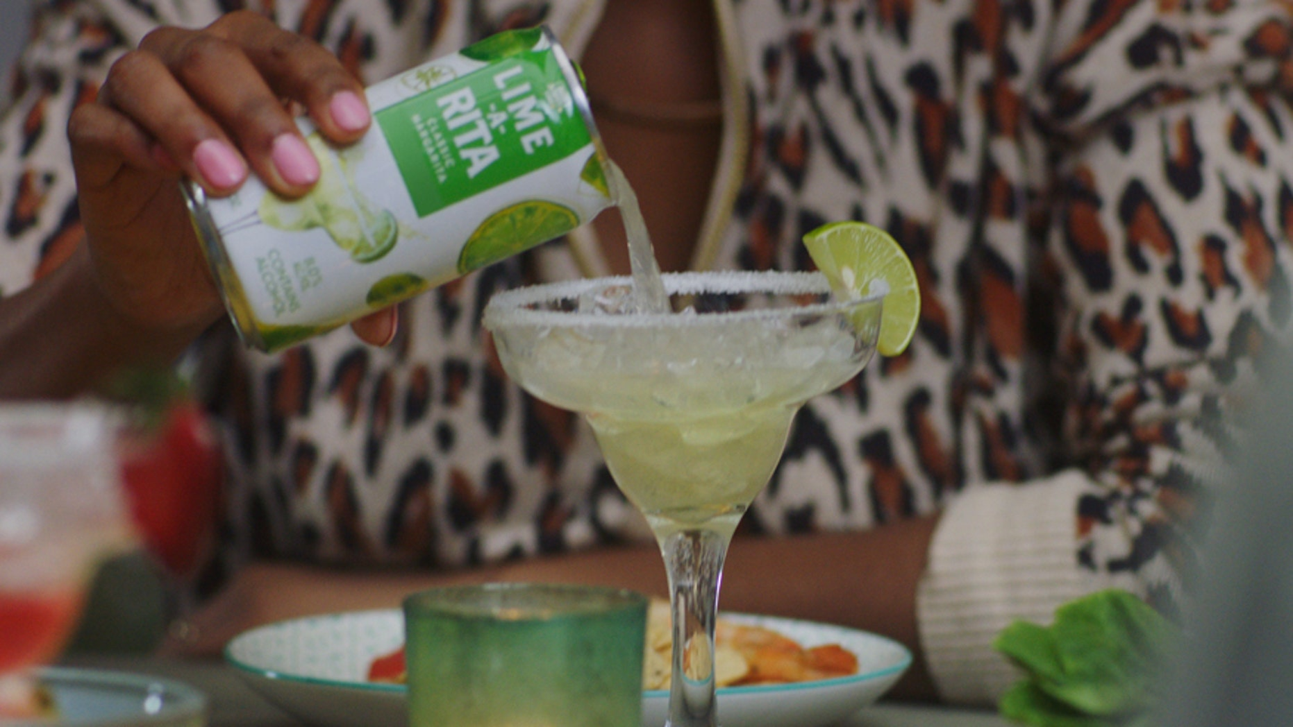 """Budwesier hopes women will enjoy a real """"margarita moment"""" with the Lime-A-Rita."""