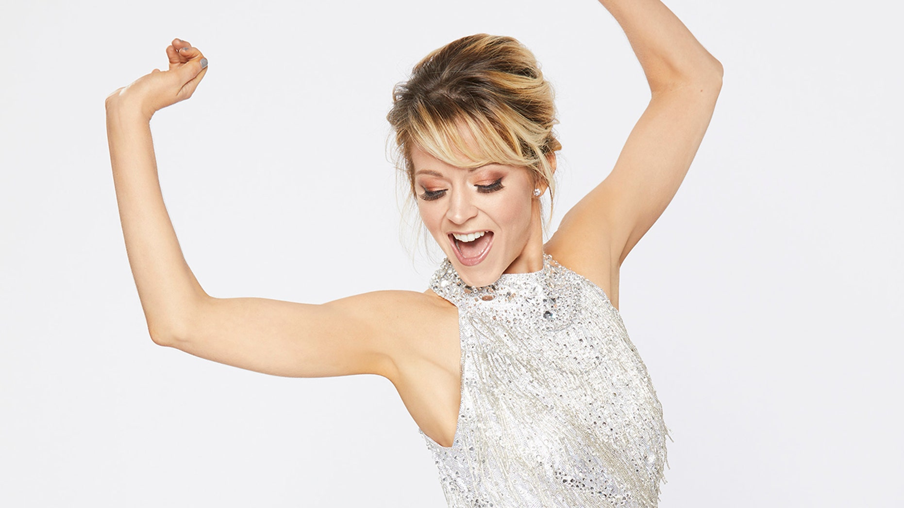 "Lindsey Stirling competes on ""Dancing with the Stars."""