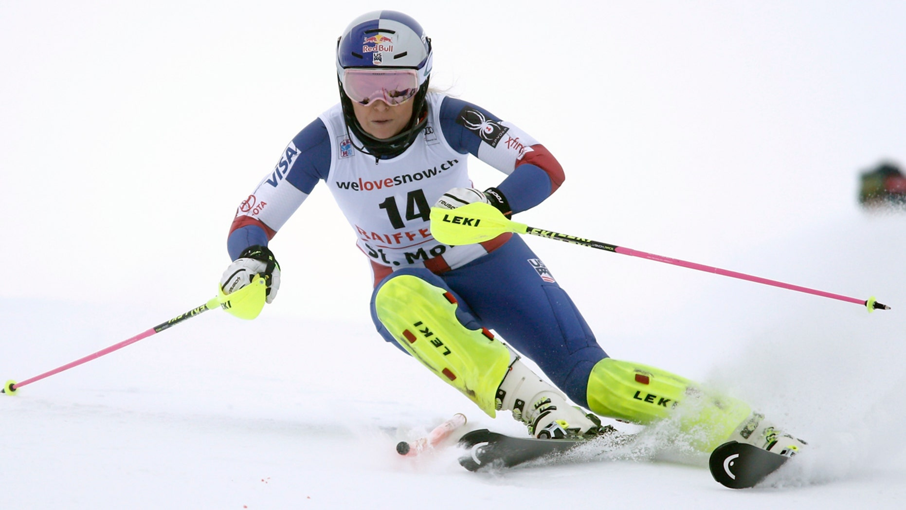 Lindsey Vonn has more wins in World Cup events than any other female alpine skier.