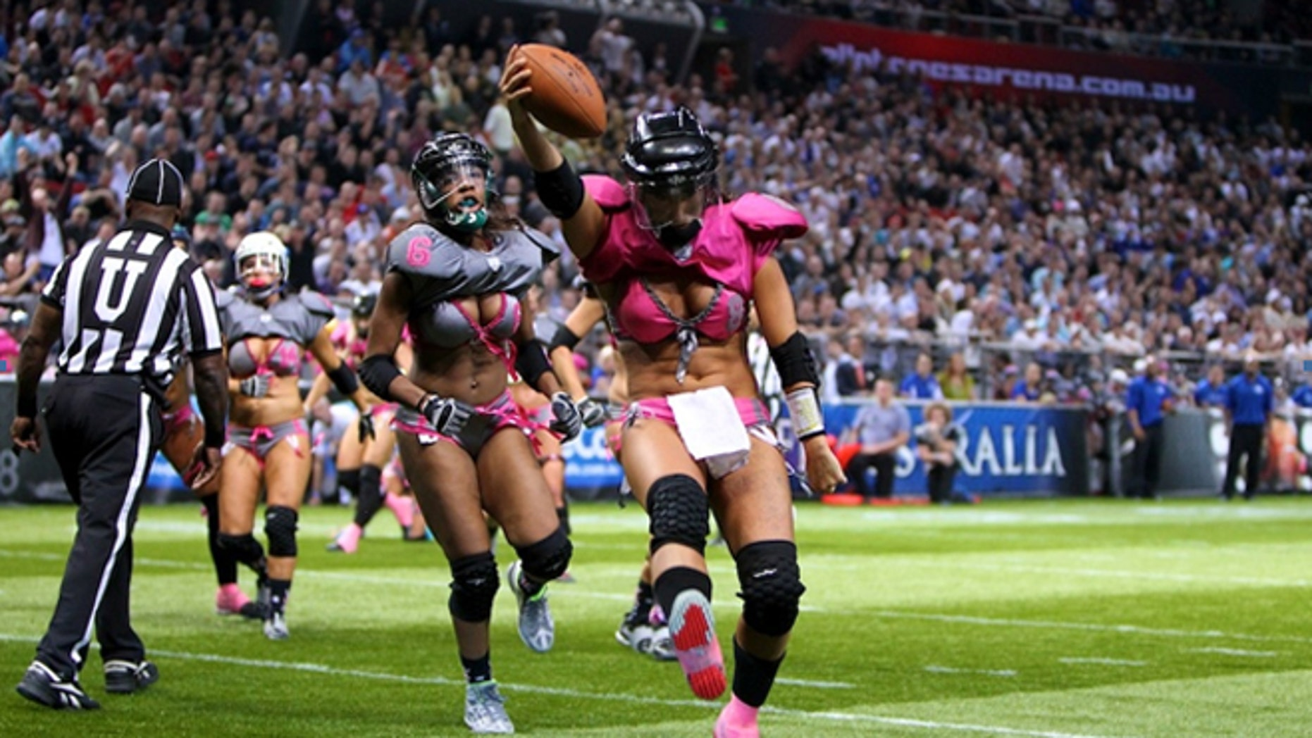A handful of replacement refs in the NFL were let go by the Lingerie Football League.