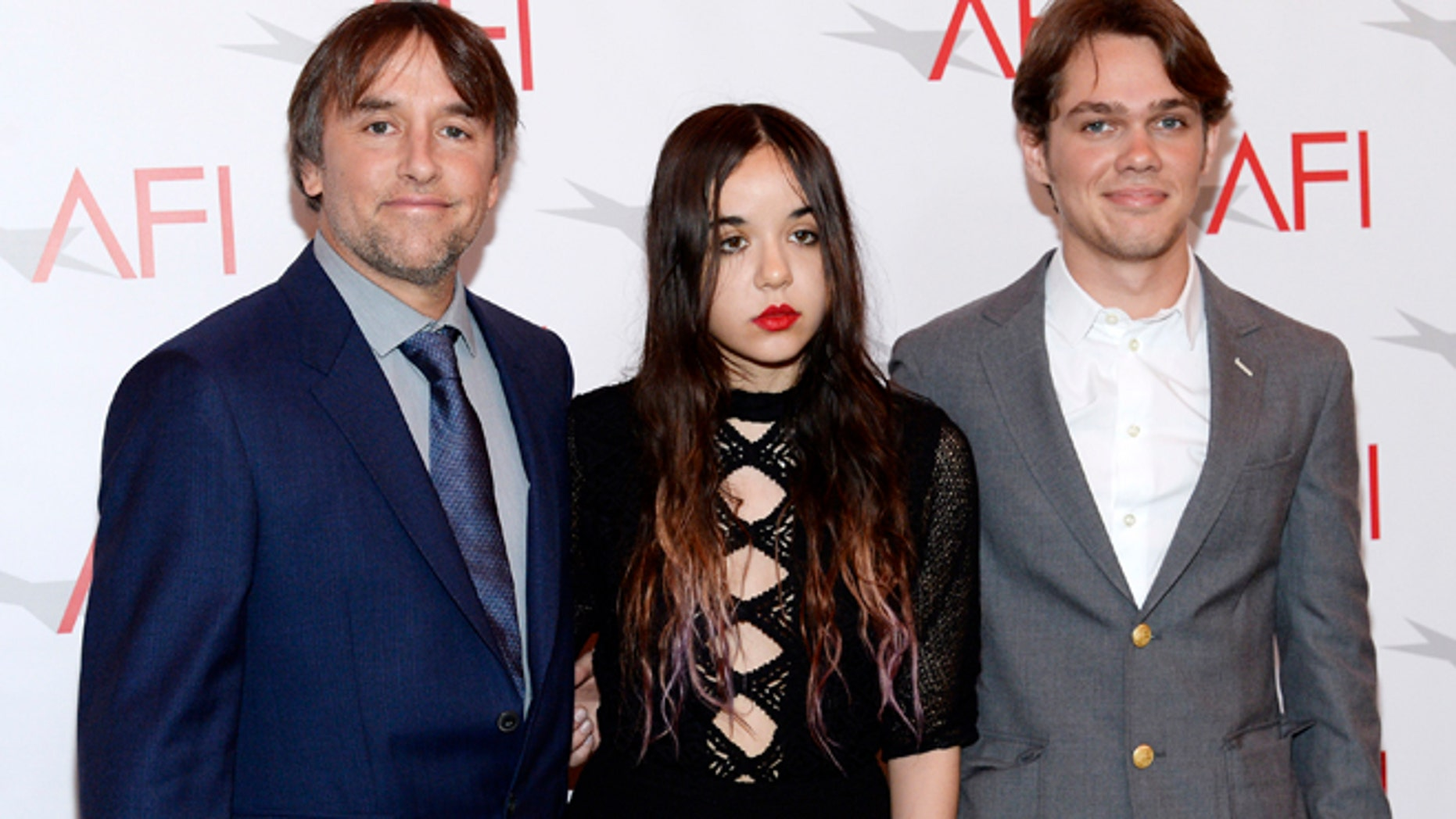 """""""Boyhood"""" actress Lorelei Linklater (C) was given a three-year deferred sentence for drug possession."""