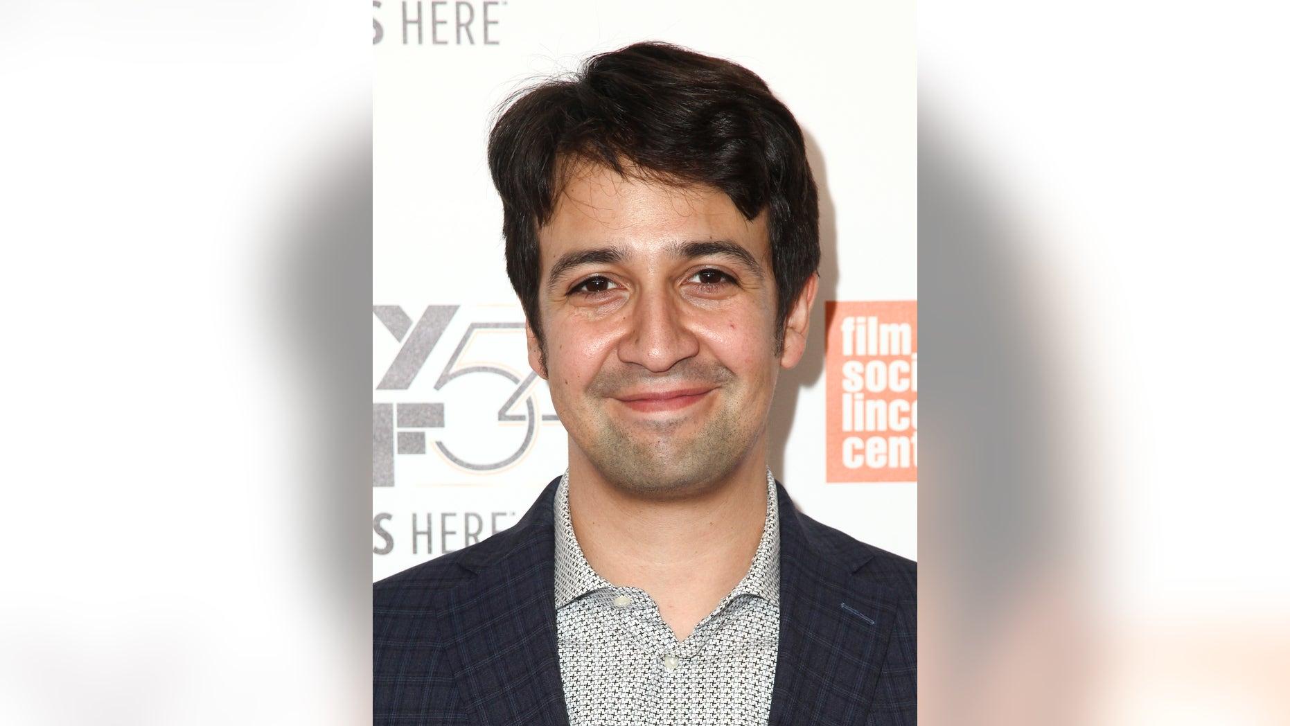 """Hamilton"" creator Lin-Manuel Miranda is urging people to register to vote."