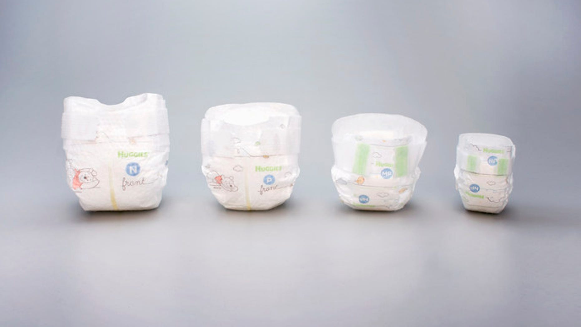 The diapers debuted Feb. 1