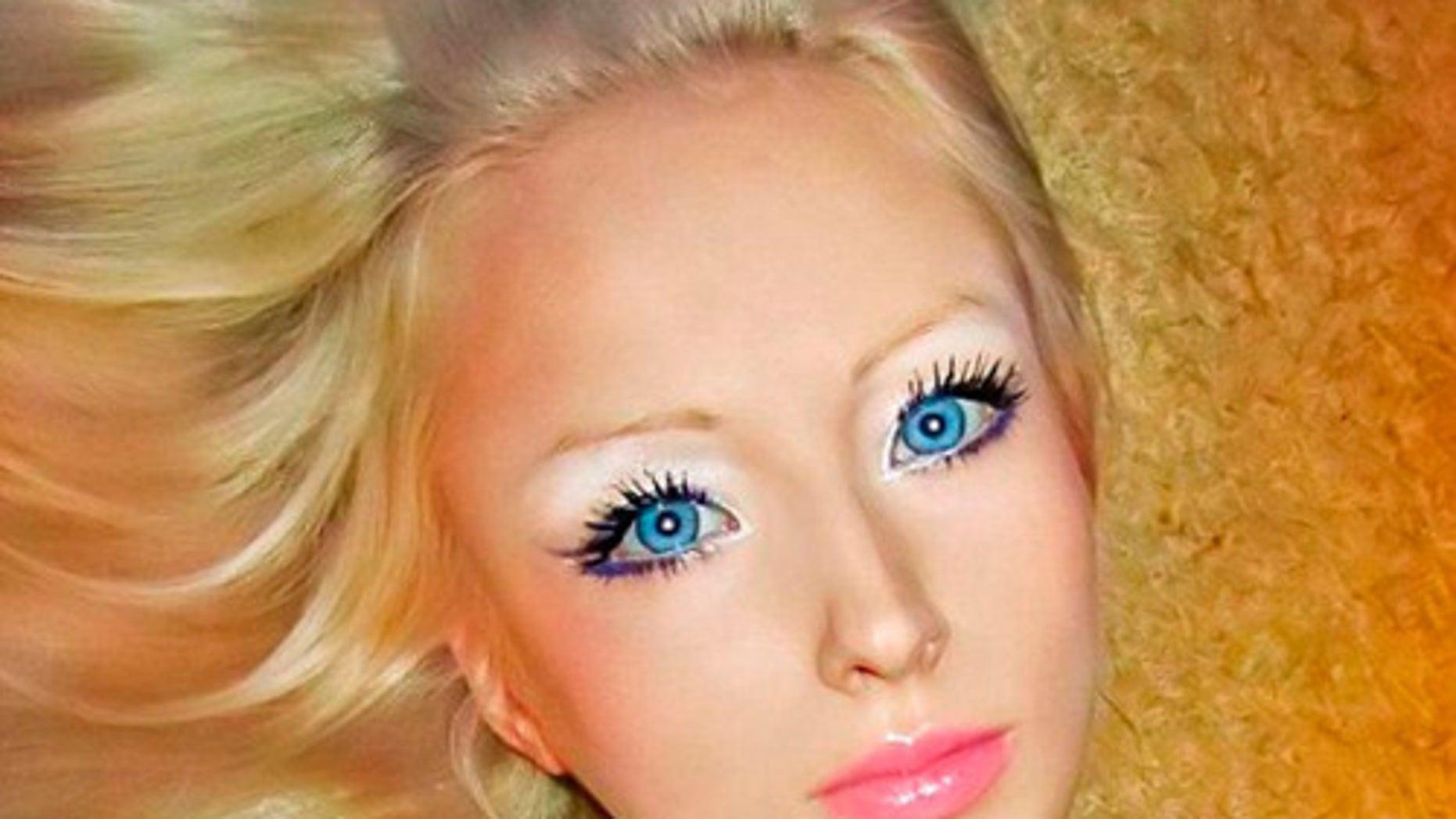 Valeria Lukyanova aka 'The Living Barbie'