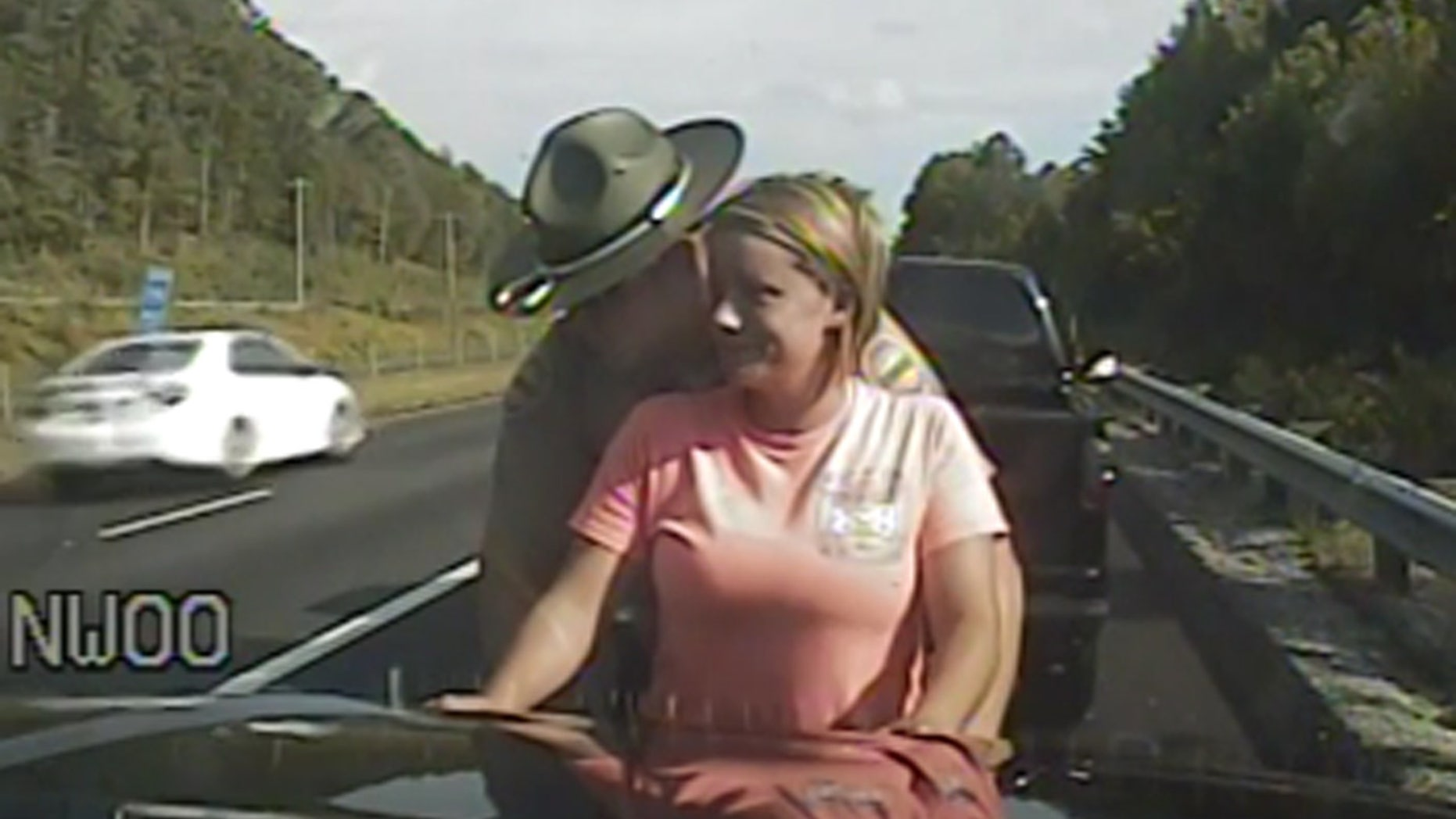 A Tennessee Highway Patrol trooper is accused of groping a woman during a traffic stop over a seat belt, reports say.