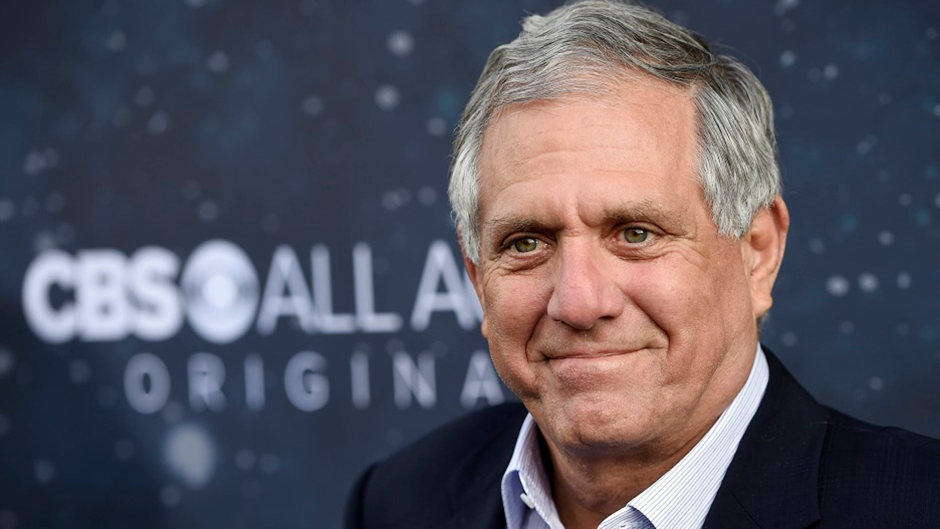 """FILE - In this Sept. 19, 2017, file photo, Les Moonves, chairman and CEO of CBS Corporation, poses at the premiere of the new television series """"Star Trek: Discovery"""" in Los Angeles. Two of the most powerful men in the U.S. television industry lost their jobs at least partly due to sexual misconduct allegations. Moonves stepped down as head of CBS Corp. Moonves has denied the allegation against him. (Photo by Chris Pizzello/Invision/AP, File)"""
