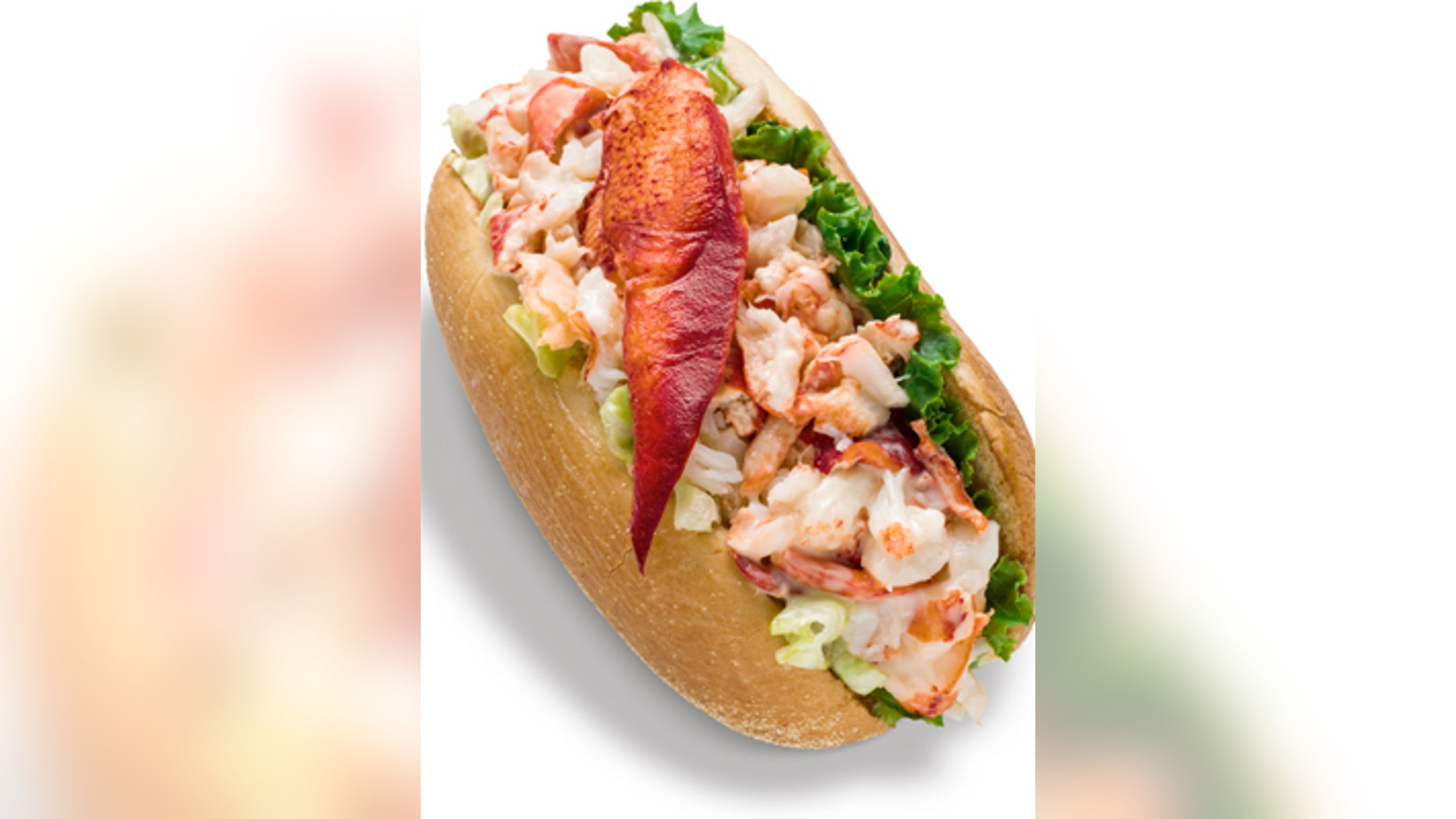 The Lobster Roll is only available at participating restaurants in New England and Canada for a limited time.