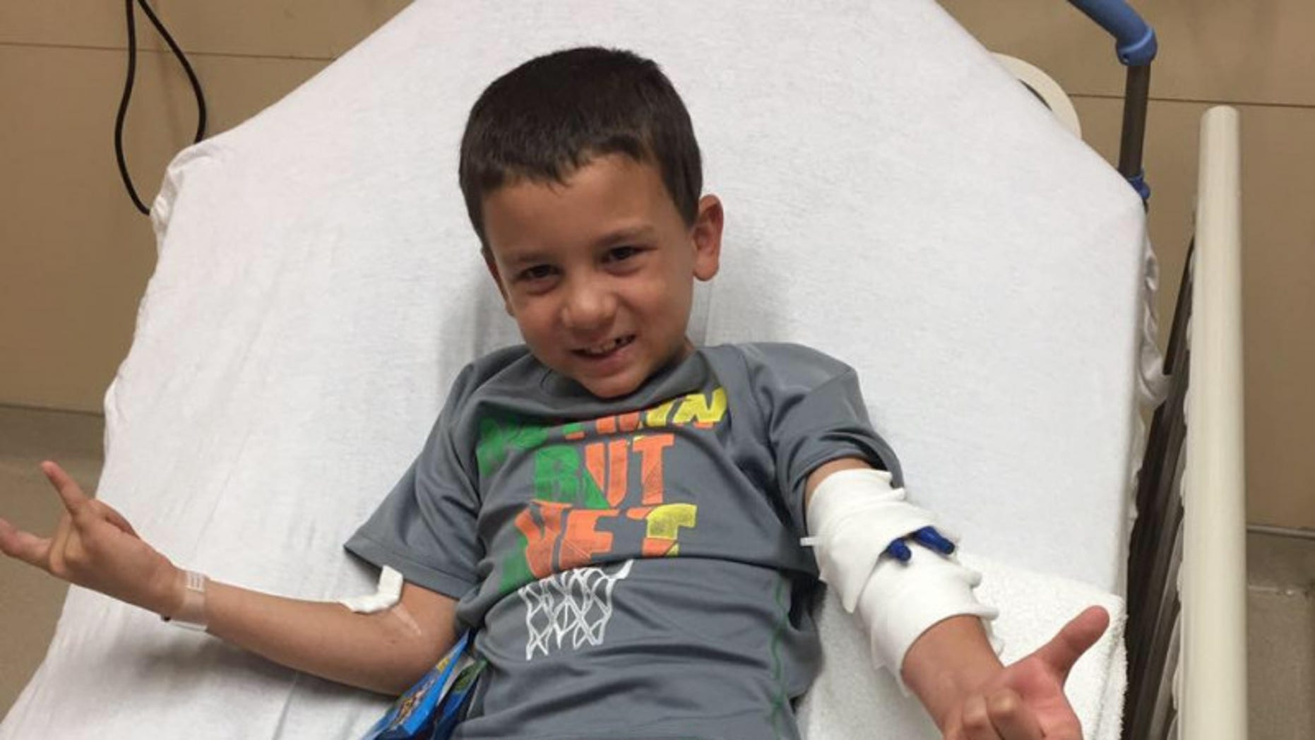 Logan Silva, 7, was injured playing soccer about three months ago, but had been complaining of severe headaches and vomiting ever since.