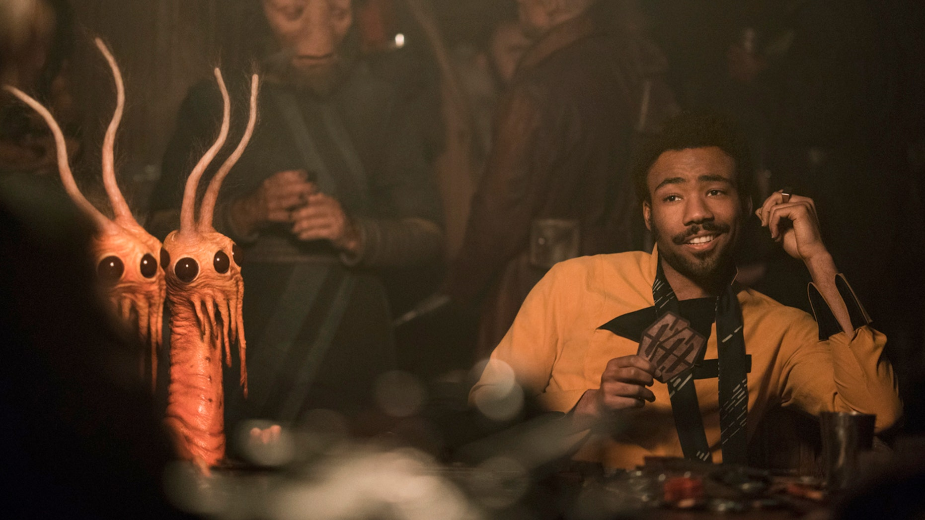 """Glover stars as Lando Calrissian in the new """"Star Wars"""" franchise film, """"Solo."""""""