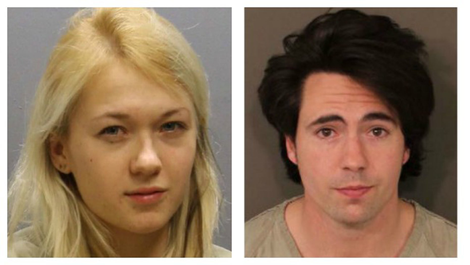 Marina Lonina, left, and Raymond Gates were charged in the alleged rape of a 17-year-old girl.