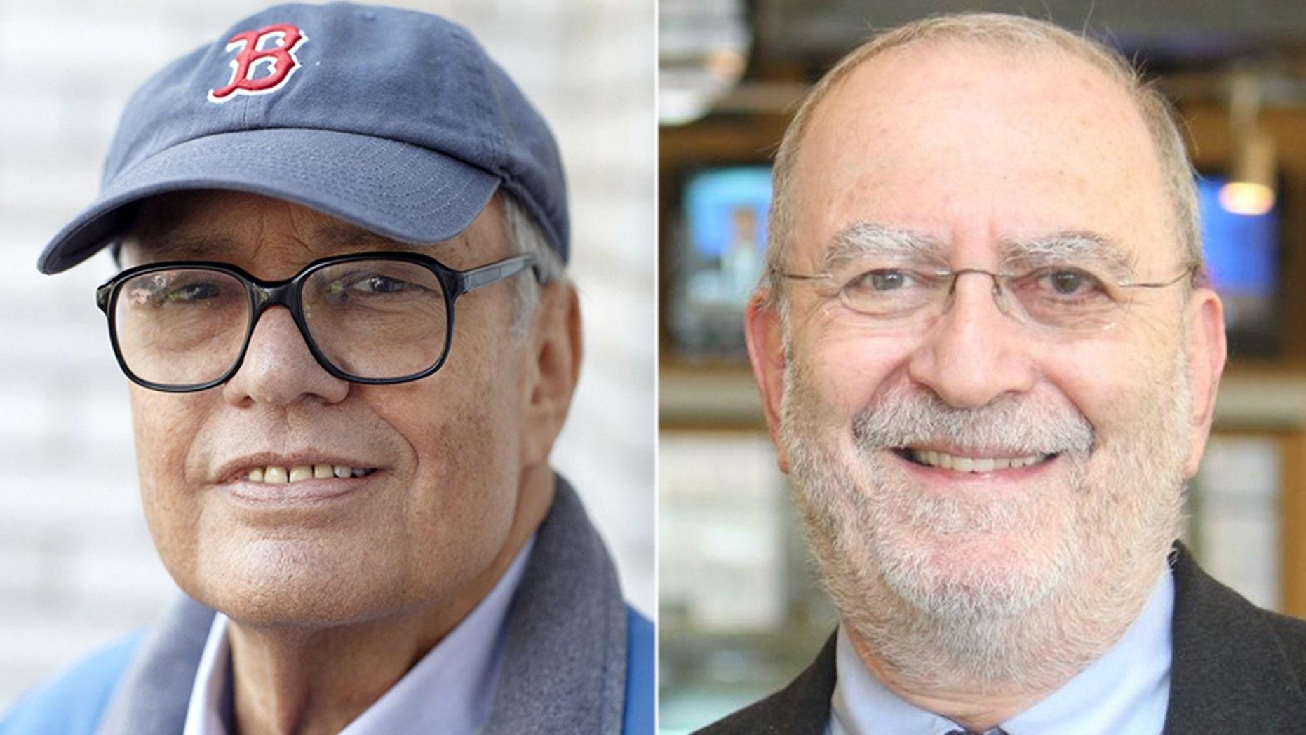 Jonathan Schwartz, left, and Leonard Lopate.