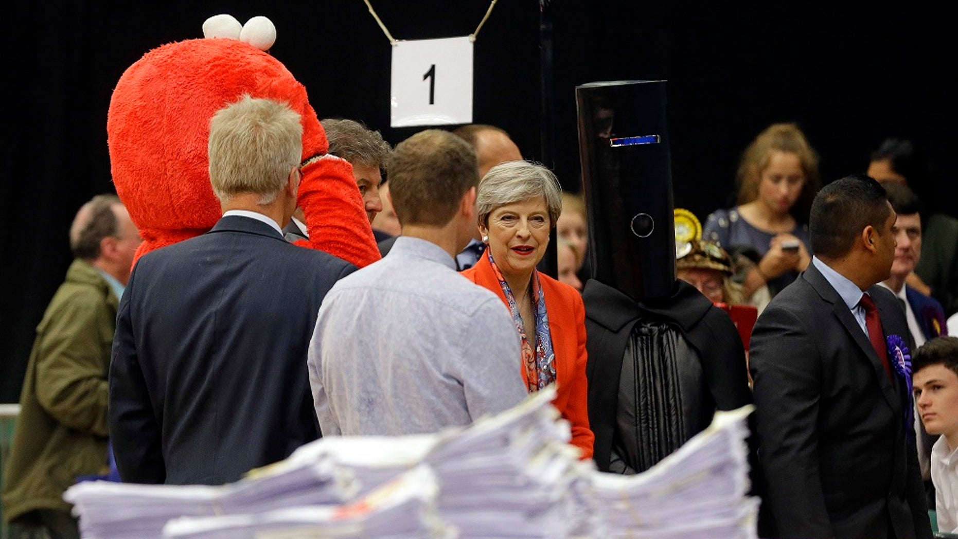 """Lord Buckethead, who ran on a platform of powerful but """"not entirely stable leadership,"""" received 249 votes in Britain's general election."""