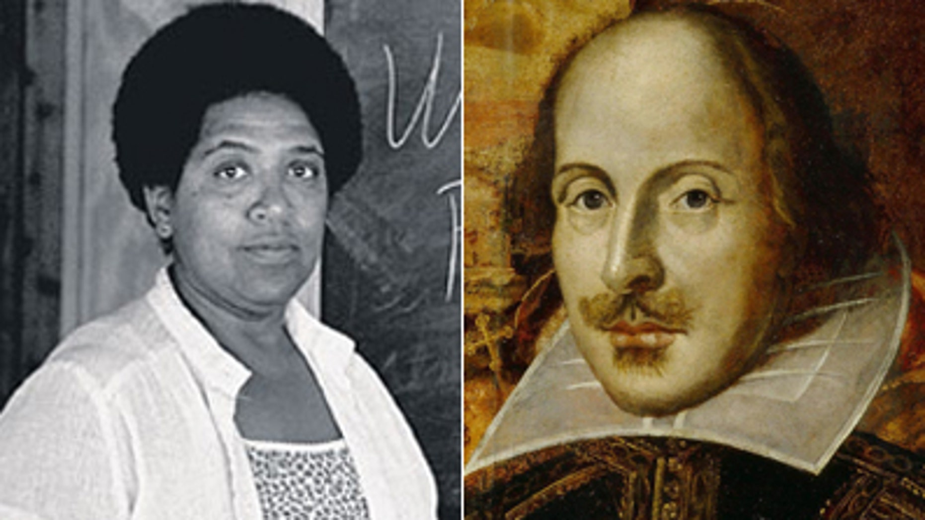 Audre Lorde and William Shakespeare