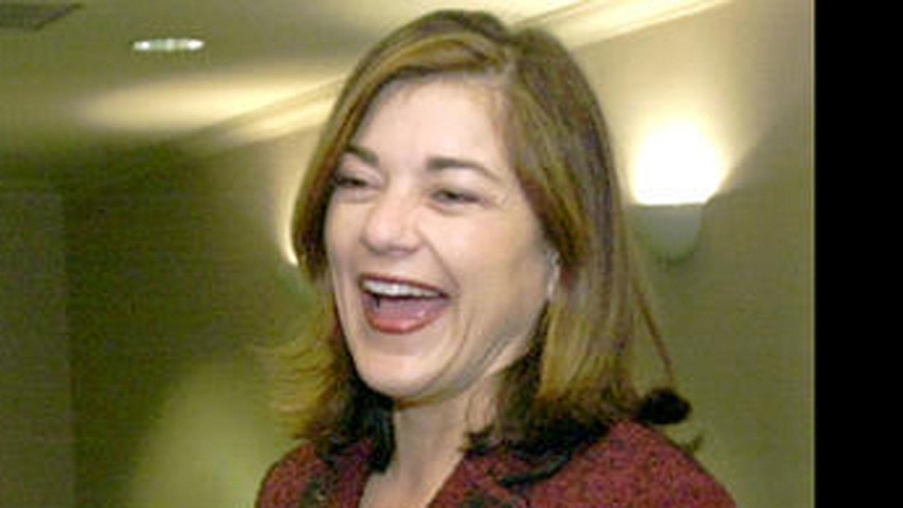 Rep. Loretta Sanchez has a laugh. (AP)
