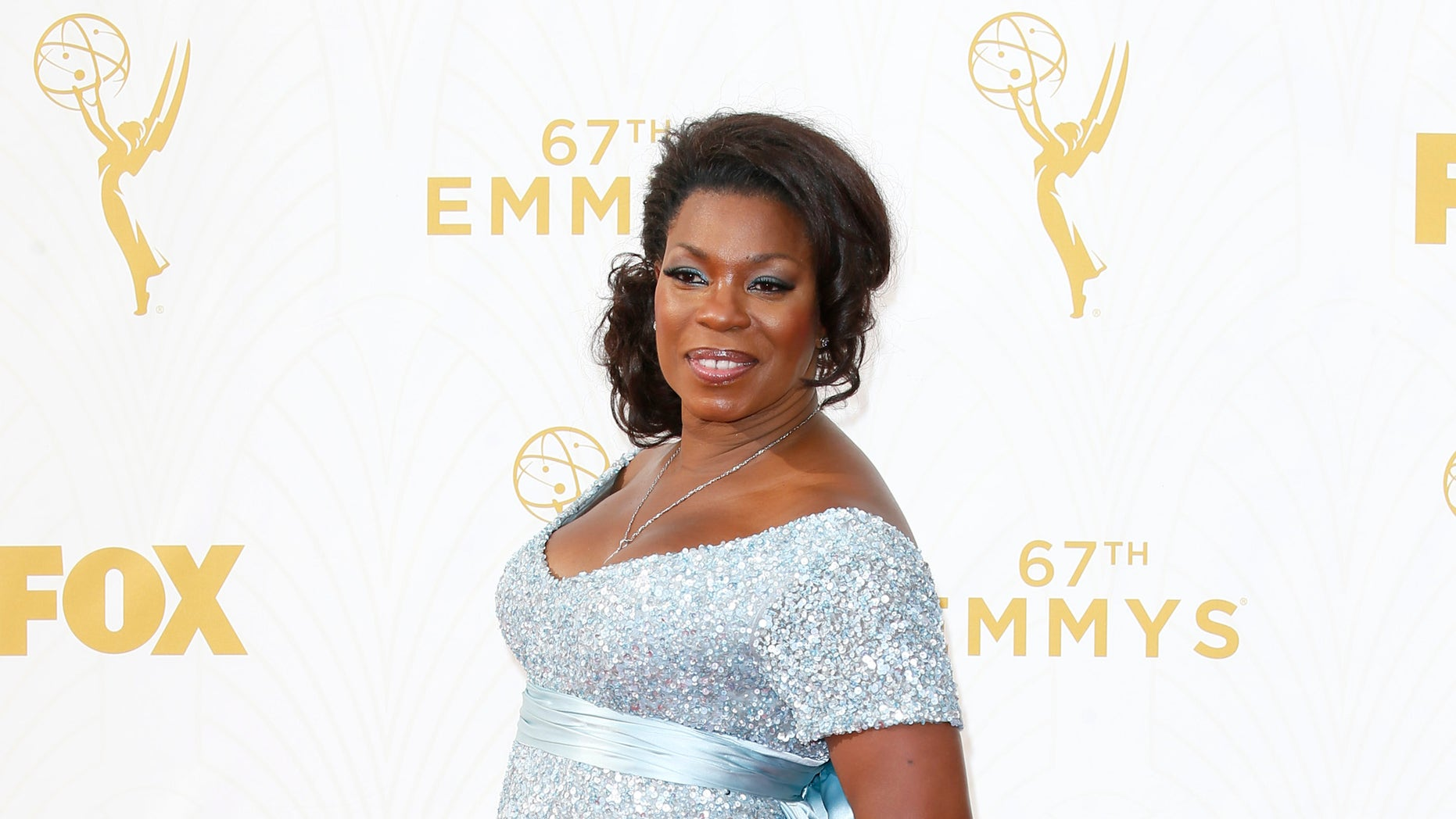 IMAGE DISTRIBUTED FOR THE TELEVISION ACADEMY - Lorraine Toussaint arrives at the 67th Primetime Emmy Awards on Sunday, Sept. 20, 2015, at the Microsoft Theater in Los Angeles. (Photo by Danny Moloshok/Invision for the Television Academy/AP Images)