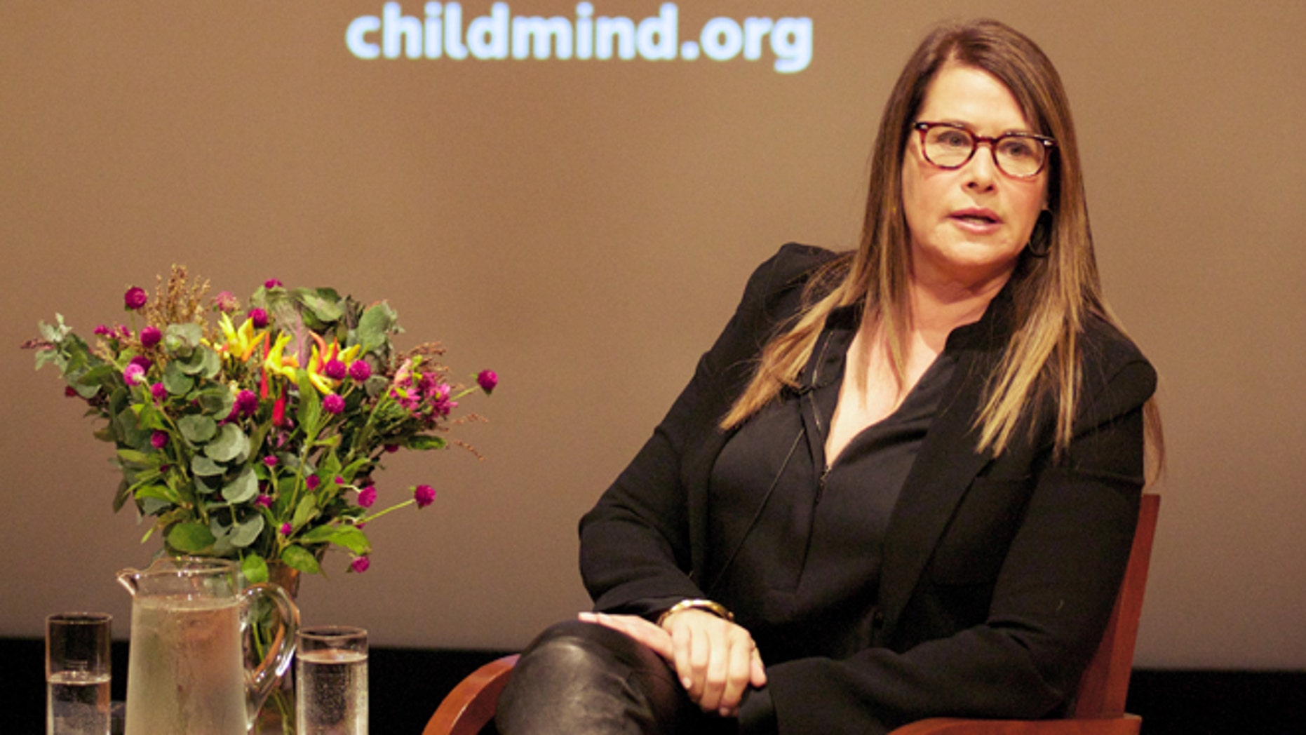 Nov. 6, 2014: Actress Lorraine Bracco opens up about her struggles with depression and dyslexia.