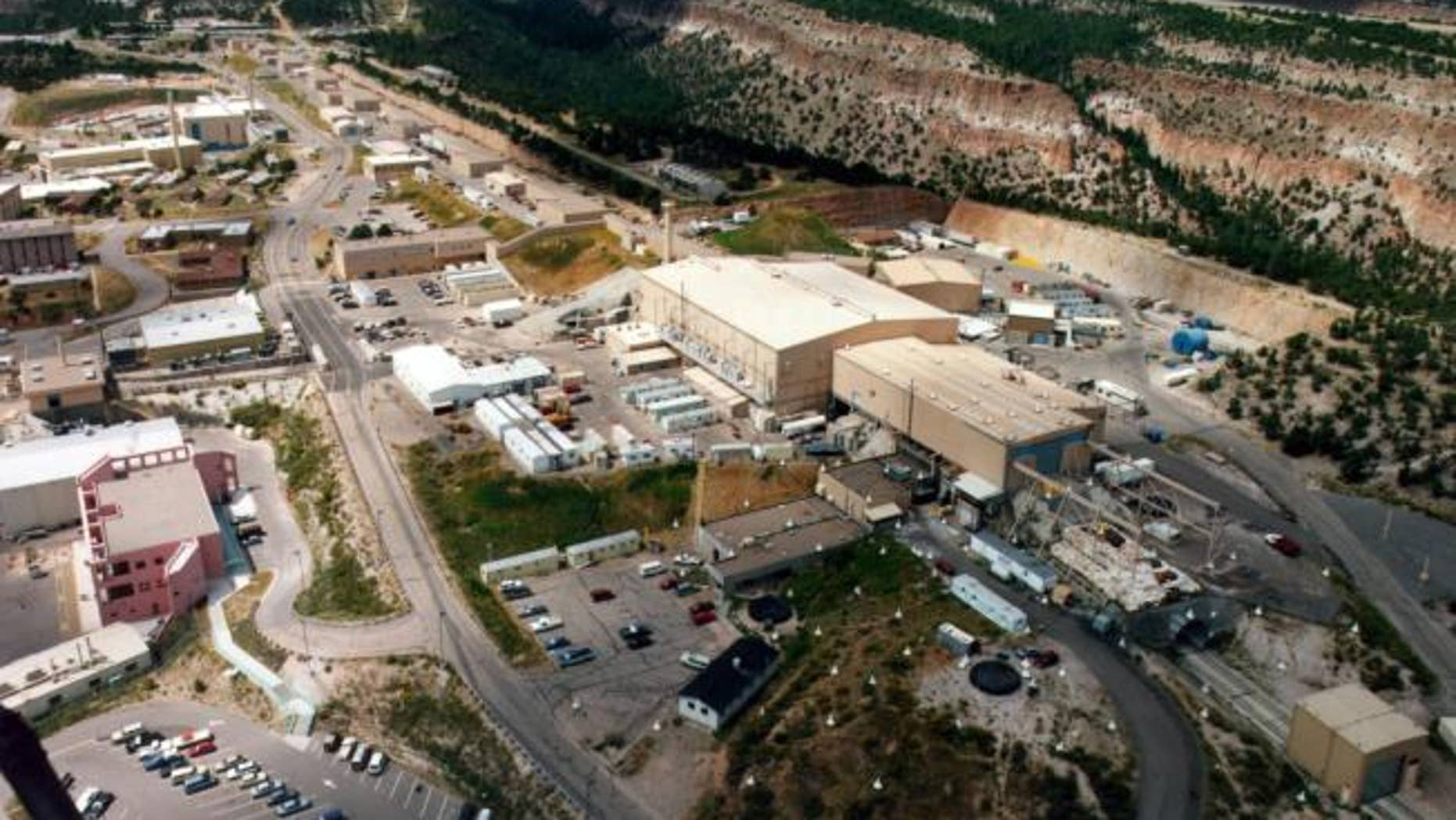 The Los Alamos National Laboratory. (AP Photo/Albuquerque Journal)