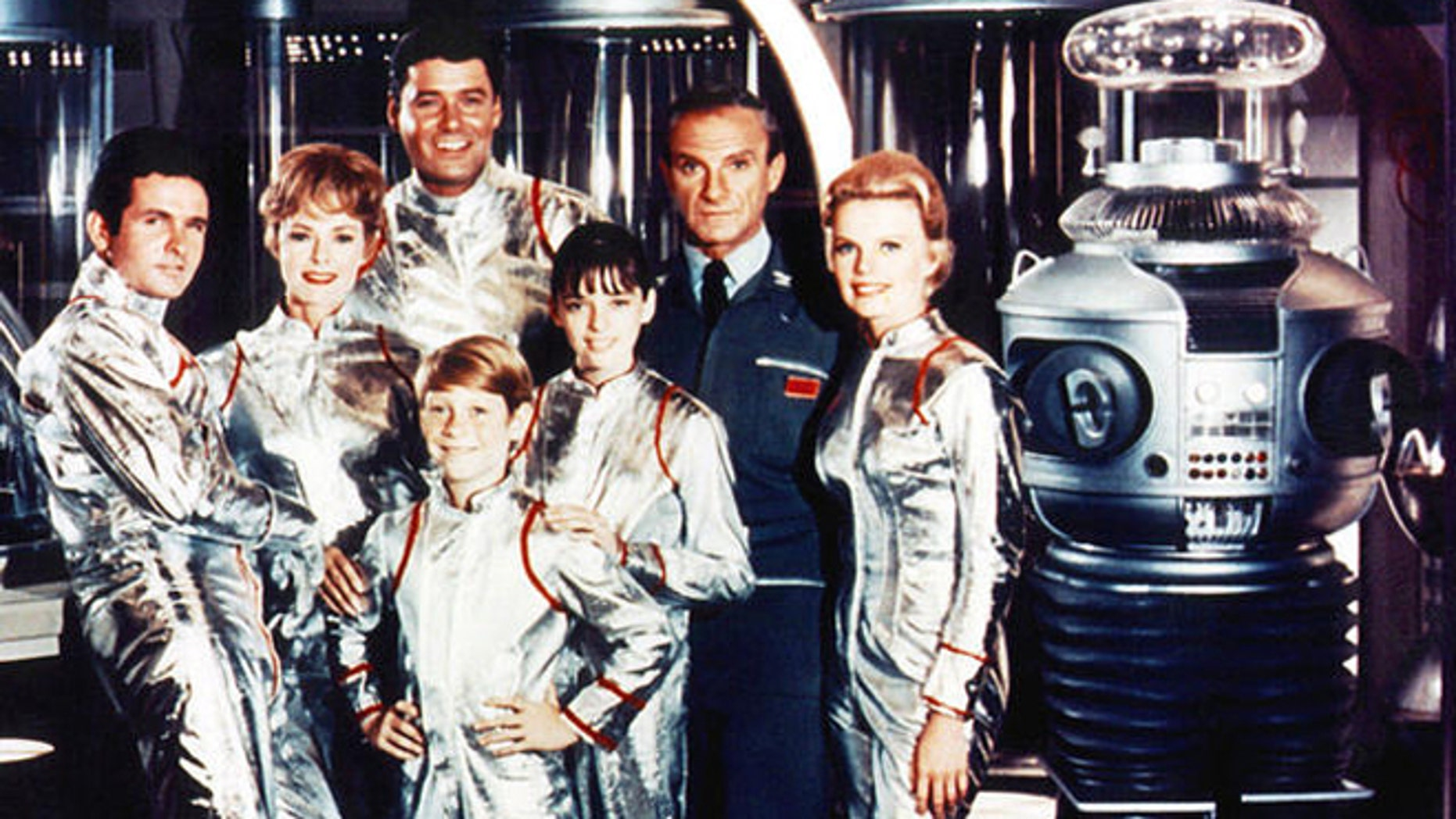 'Lost in Space' cast.