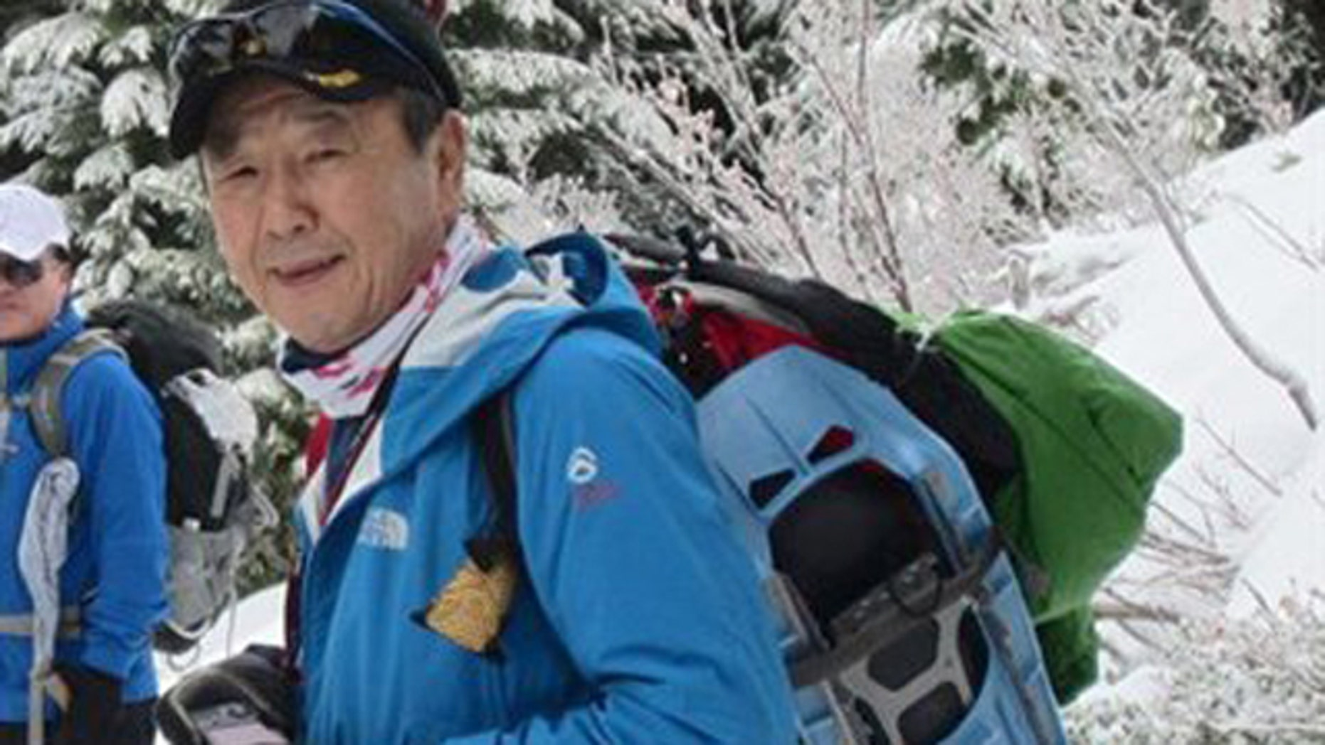 In this undated photo provided by Mount Rainier National Park, Yong Chun Kim, 66, of Tacoma, is shown.