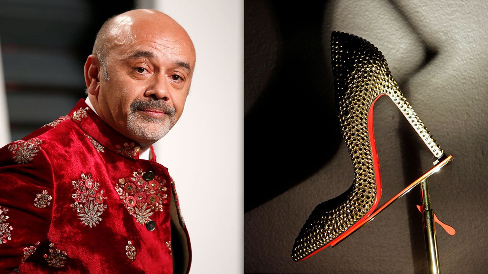 Christian Louboutin is fighting to keep a Dutch company from copying the signature feature of his red-soled heels.