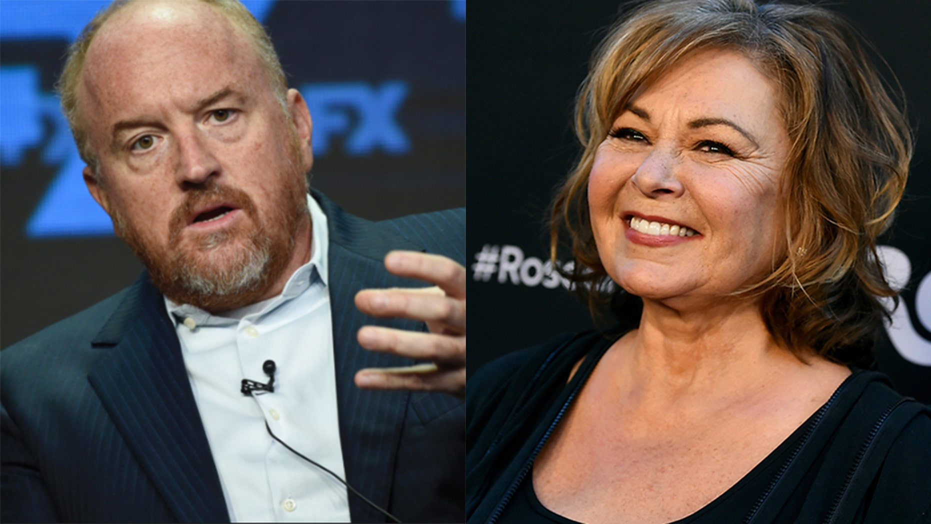 Louis C.K. reportedly called Roseanne after her firing at ABC.