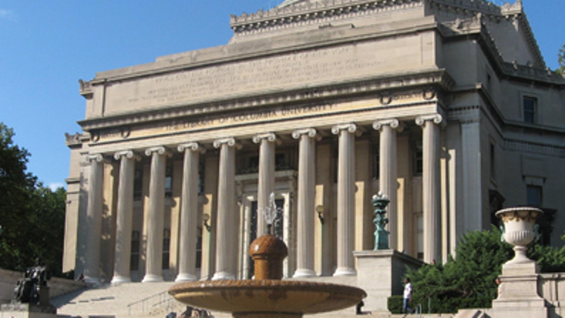 Columbia University's Low Library in New York, N.Y.