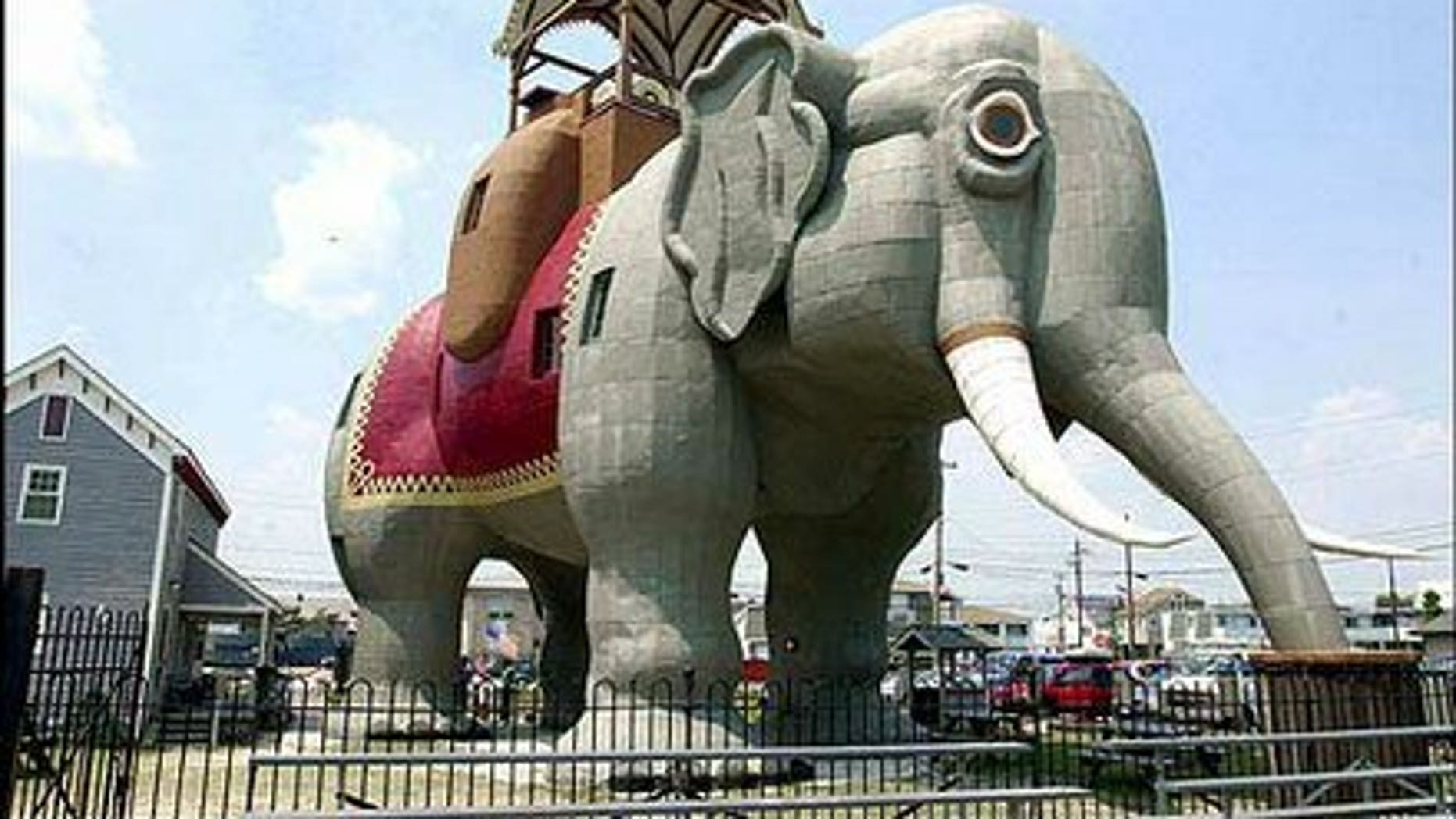 New Jersey shore attraction, Lucy the Elephant loacted in Margate, N.J.