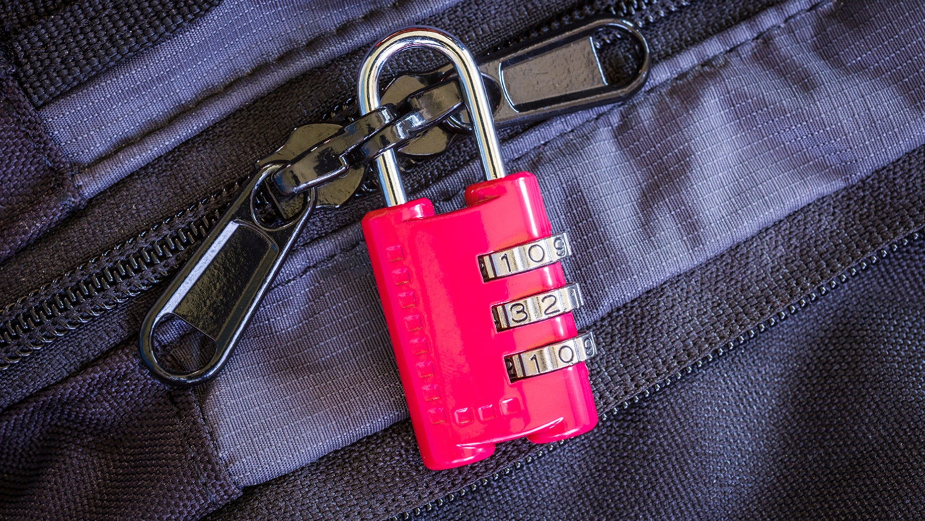 Think this lock is protecting the contents of your bag? Think again.